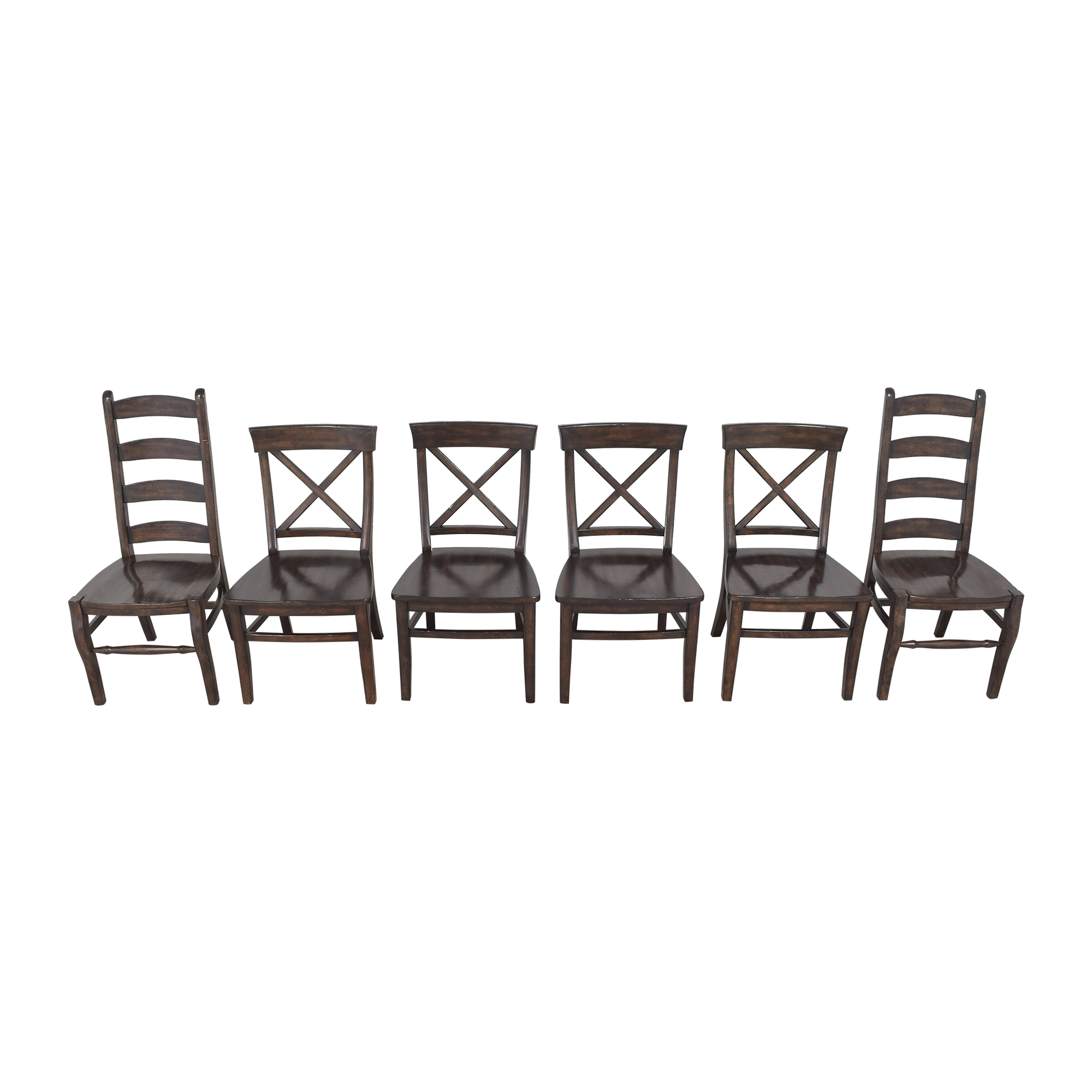 Pottery Barn Aaron and Wynn Ladderback Dining Chairs / Dining Chairs