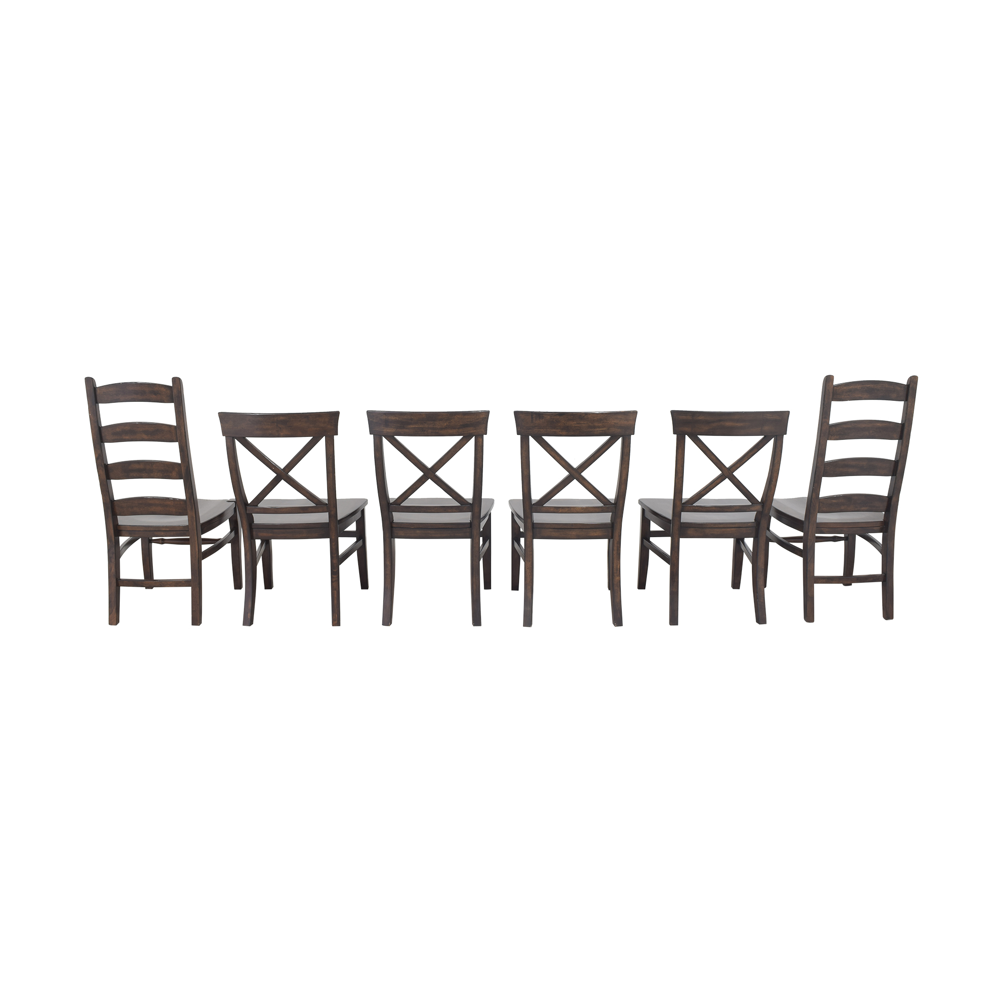 Pottery Barn Pottery Barn Aaron and Wynn Ladderback Dining Chairs for sale