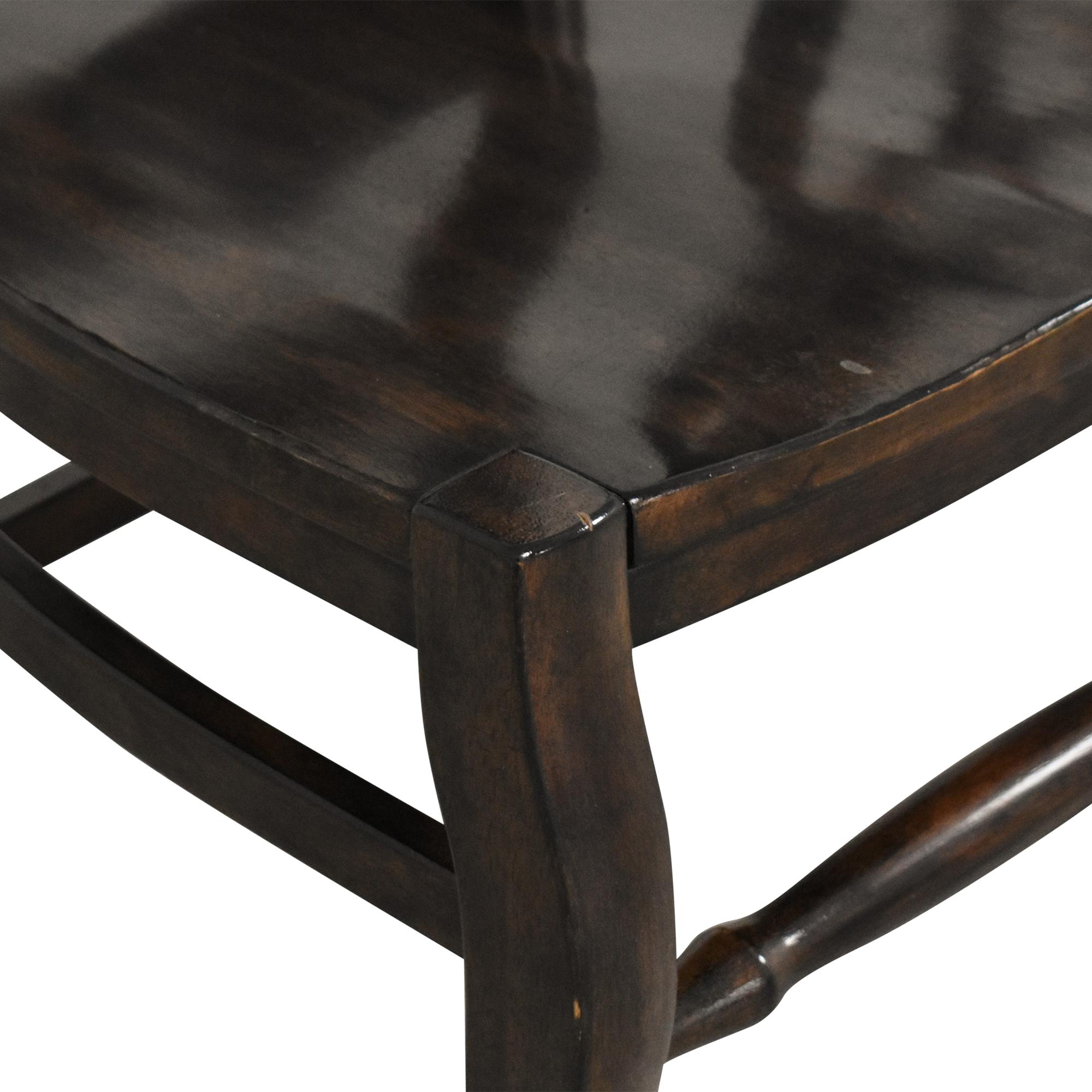 buy Pottery Barn Aaron and Wynn Ladderback Dining Chairs Pottery Barn Dining Chairs