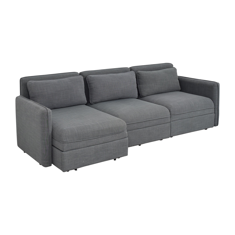 IKEA IKEA Vallentuna Three Seat Modular Sleeper Sofa on sale