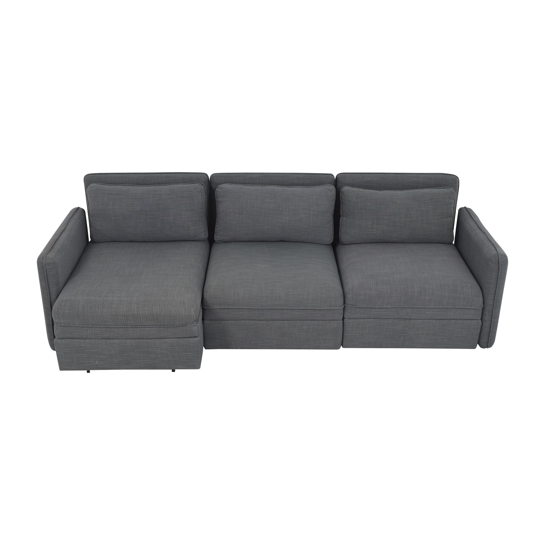IKEA IKEA Vallentuna Three Seat Modular Sleeper Sofa ma