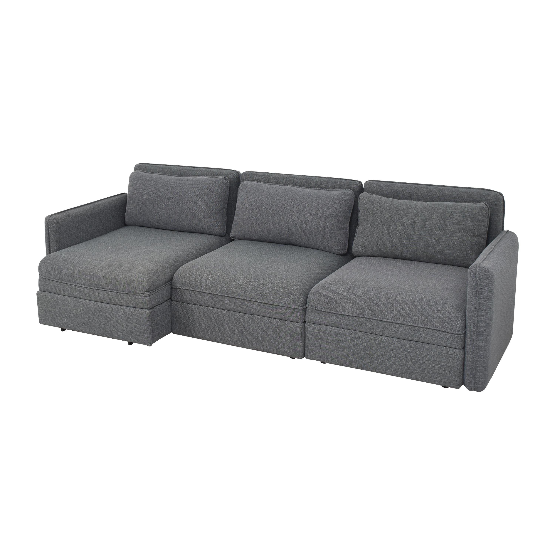 IKEA Vallentuna Three Seat Modular Sleeper Sofa IKEA