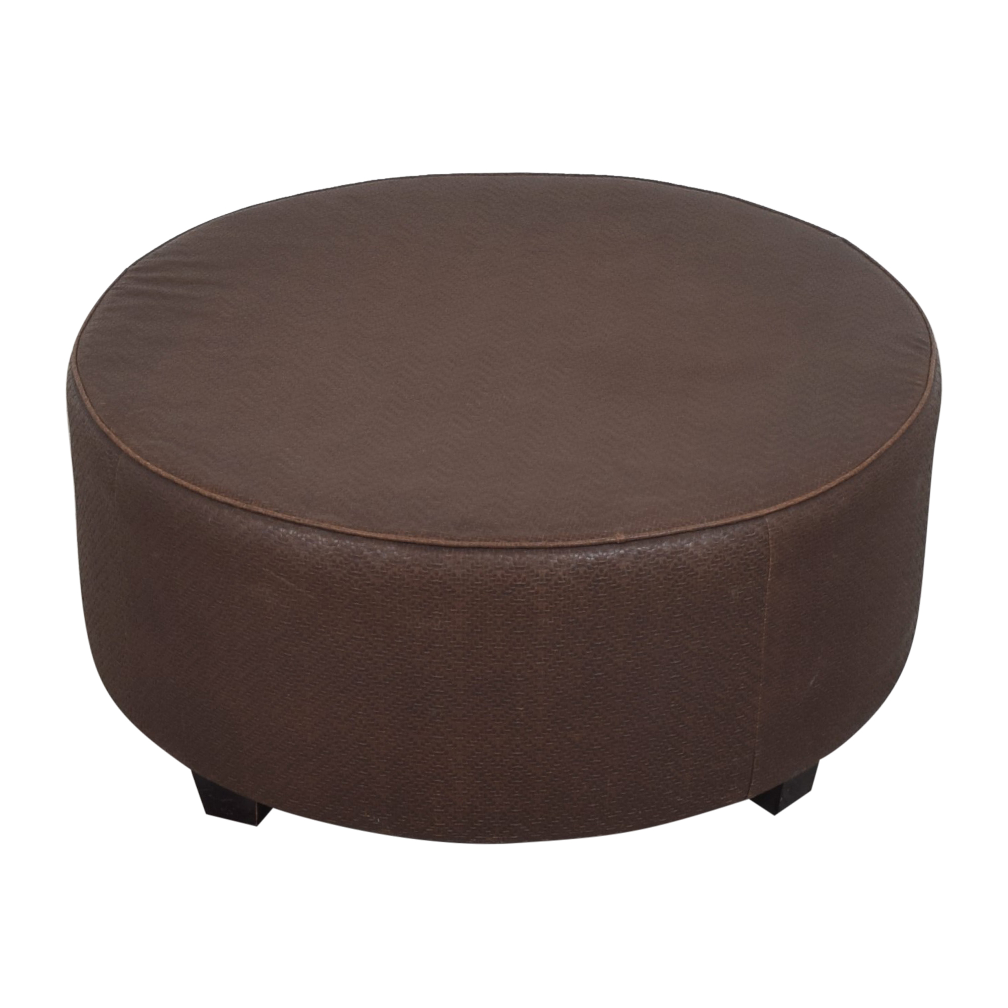 Bloomingdale's Bloomingdale's Round Ottoman Ottomans