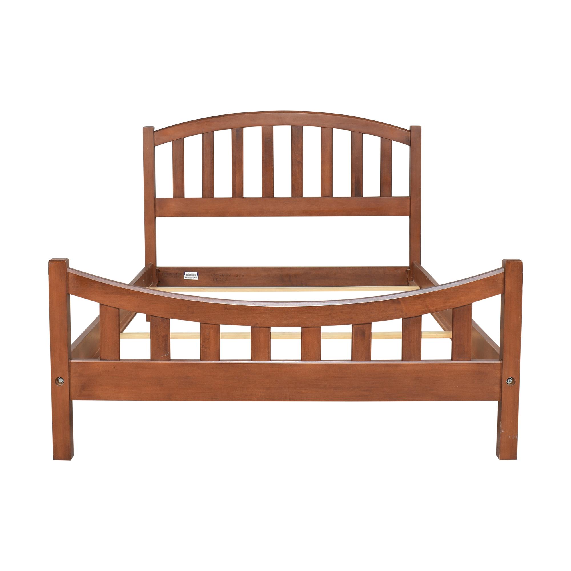 Ethan Allen Full Slat Bed sale