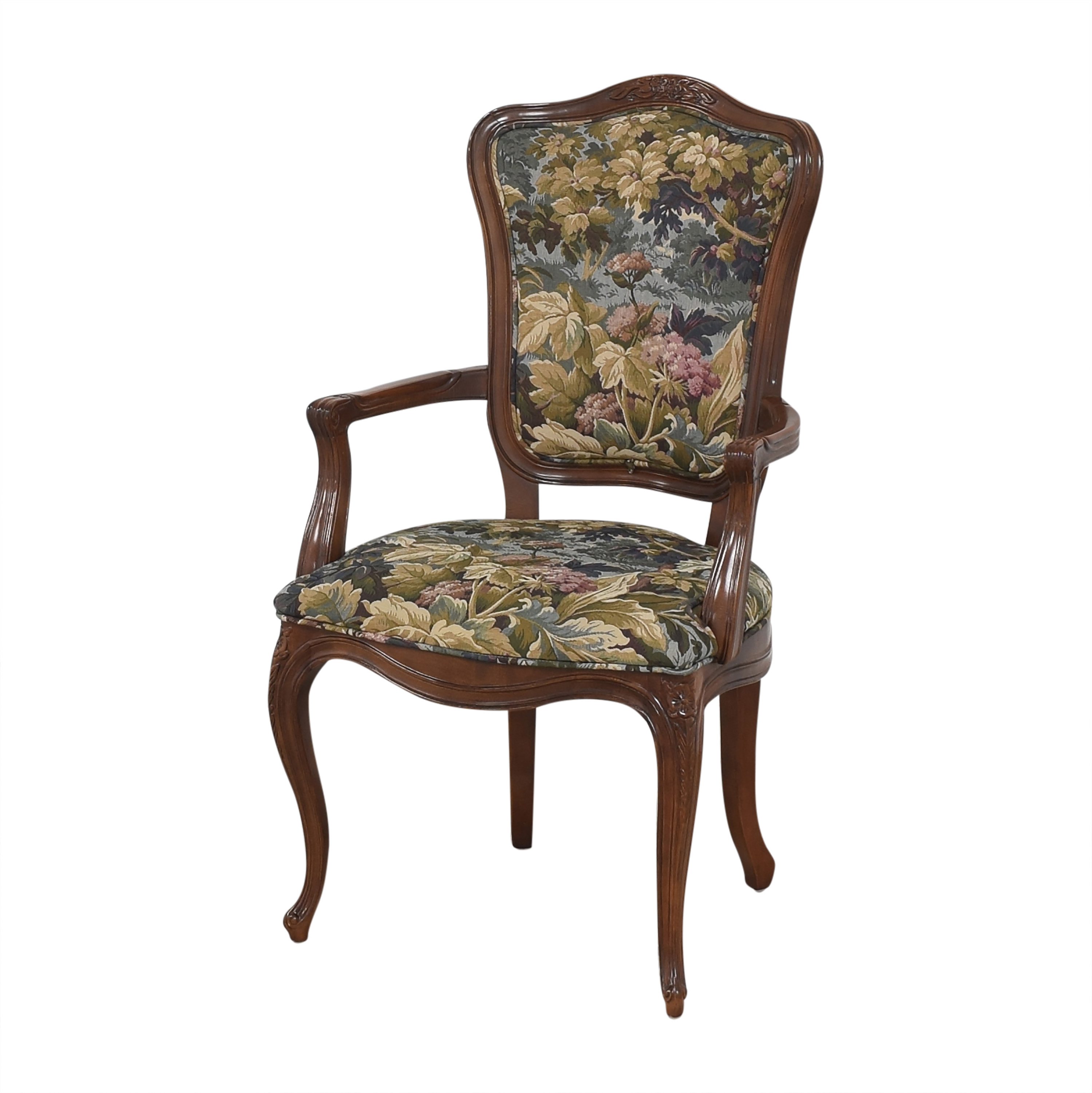 Henredon Furniture Henredon Versailles Collection Dining Arm Chairs second hand