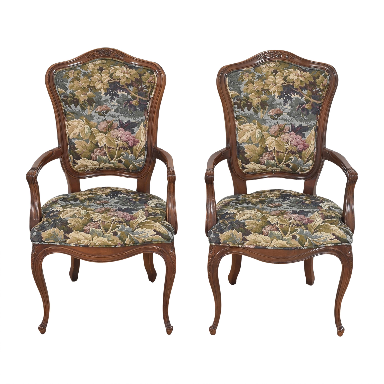 shop Henredon Versailles Collection Dining Arm Chairs Henredon Furniture