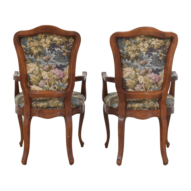 Henredon Furniture Henredon Versailles Collection Dining Arm Chairs multi
