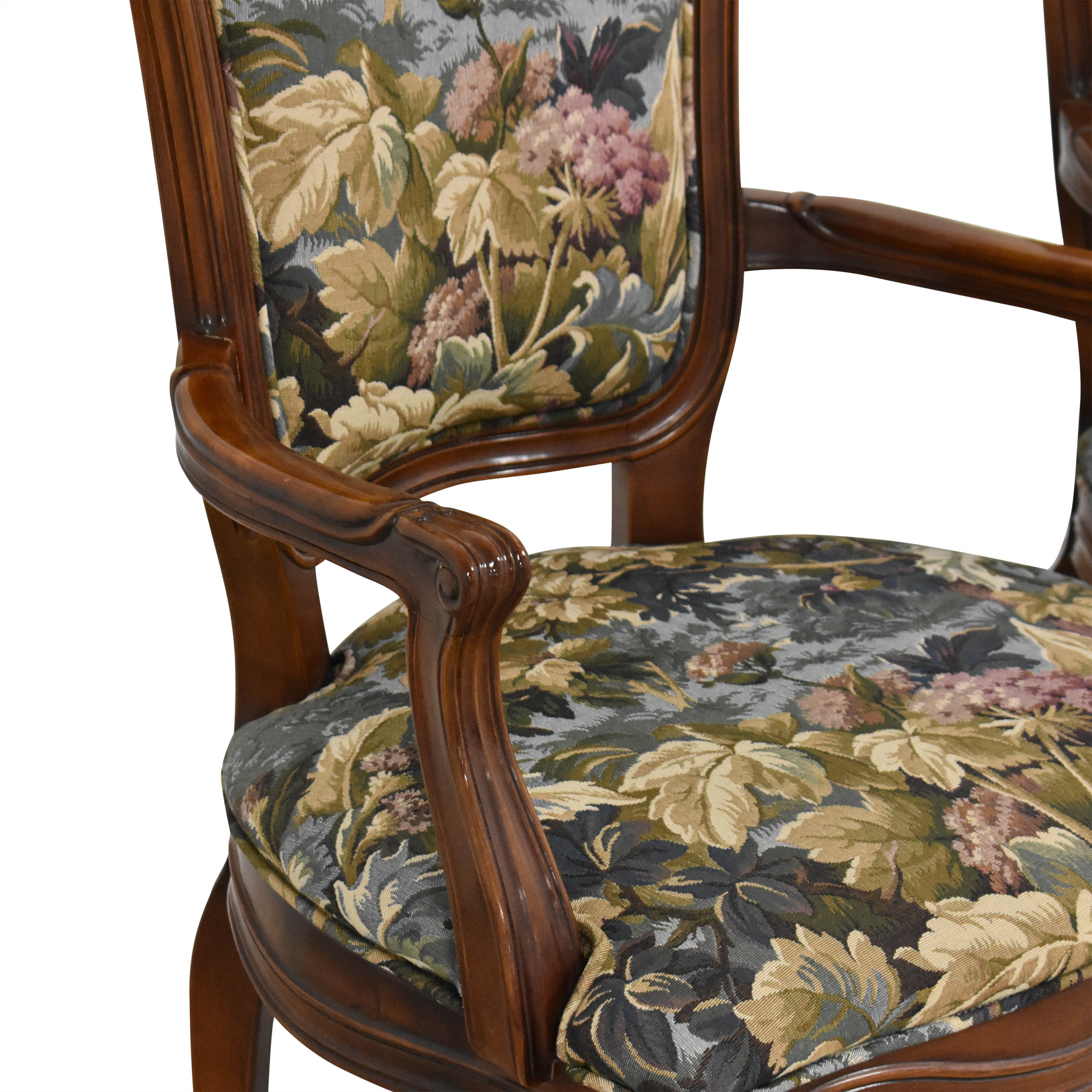 Henredon Furniture Henredon Versailles Collection Dining Arm Chairs ct
