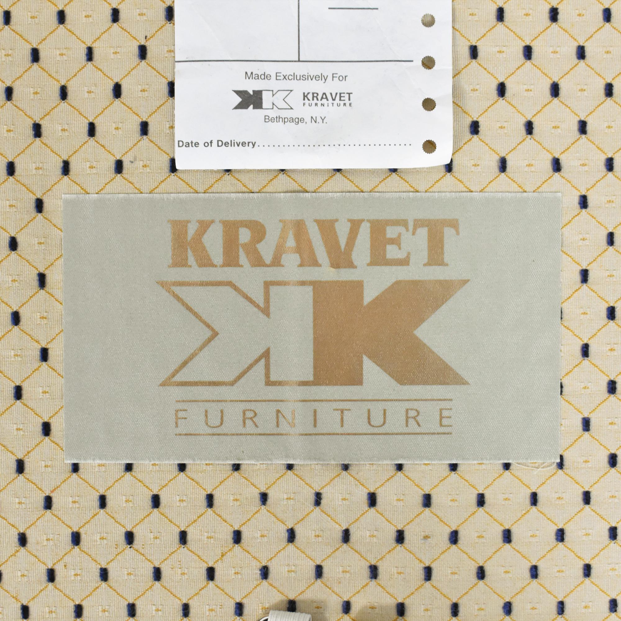 buy Kravet Custom Two Cushion Sofa Kravet