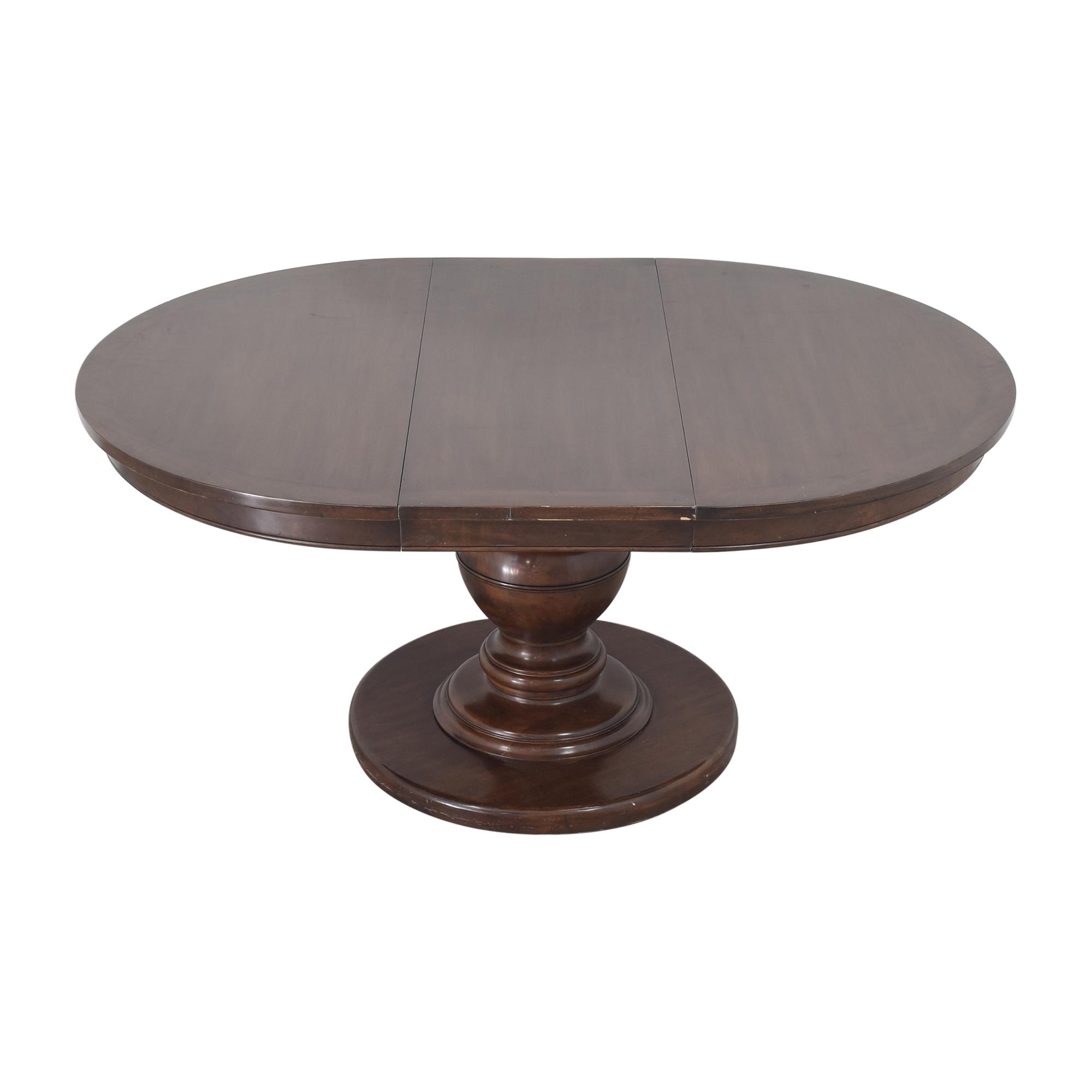 Kravet Kravet Grand Pedestal Dining Table second hand