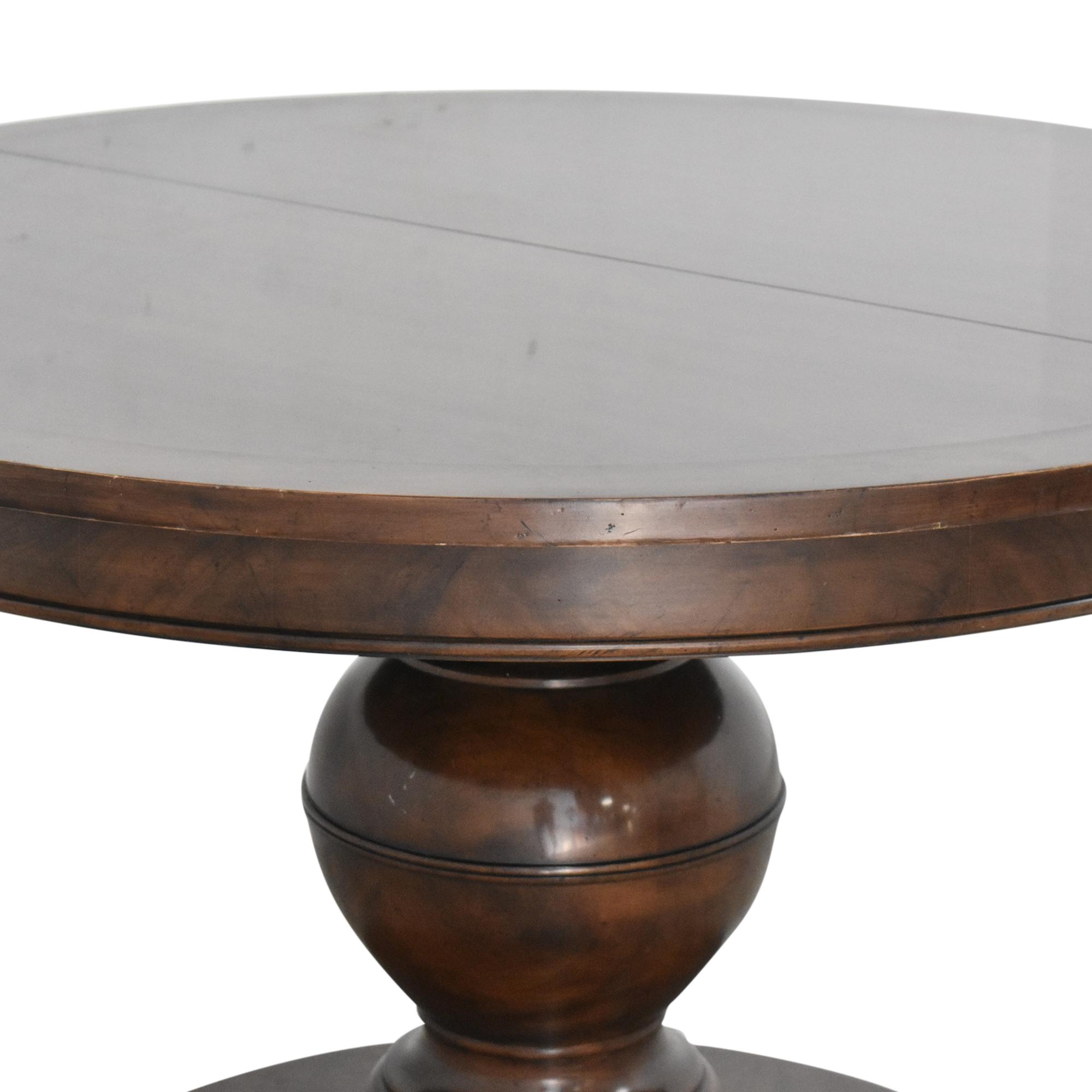 shop Kravet Grand Pedestal Dining Table Kravet Dinner Tables