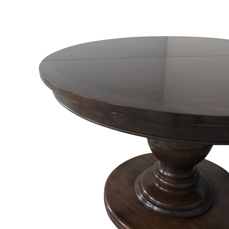 Kravet Kravet Grand Pedestal Dining Table brown