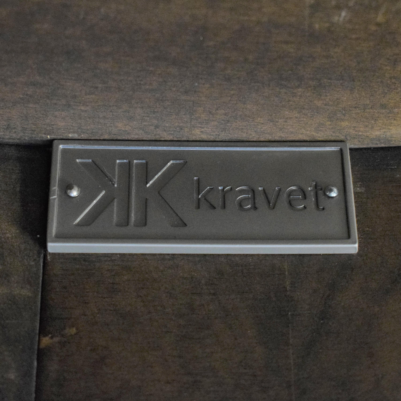 Kravet Grand Pedestal Dining Table / Dinner Tables