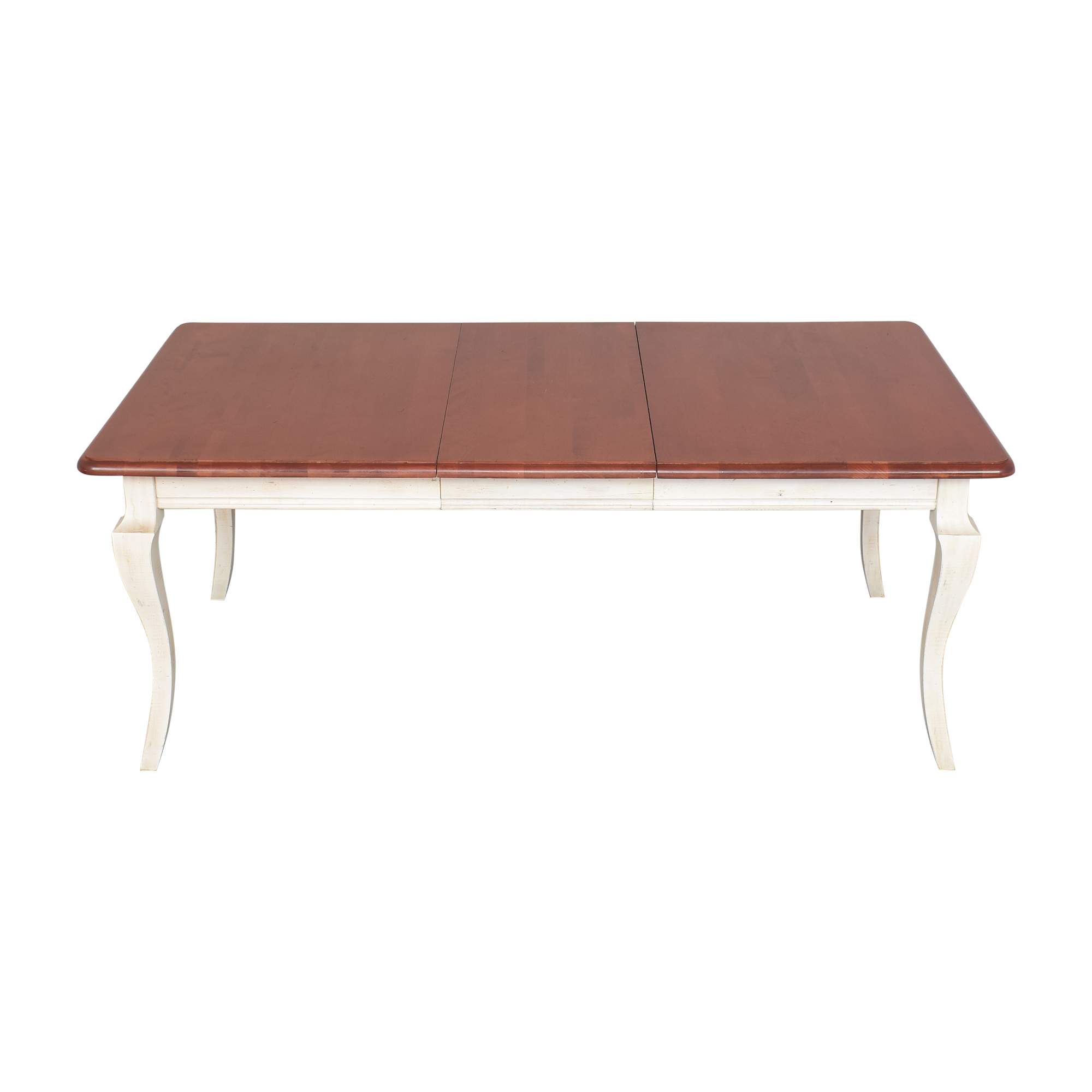 shop Domain Country French Extendable Dining Table Domain