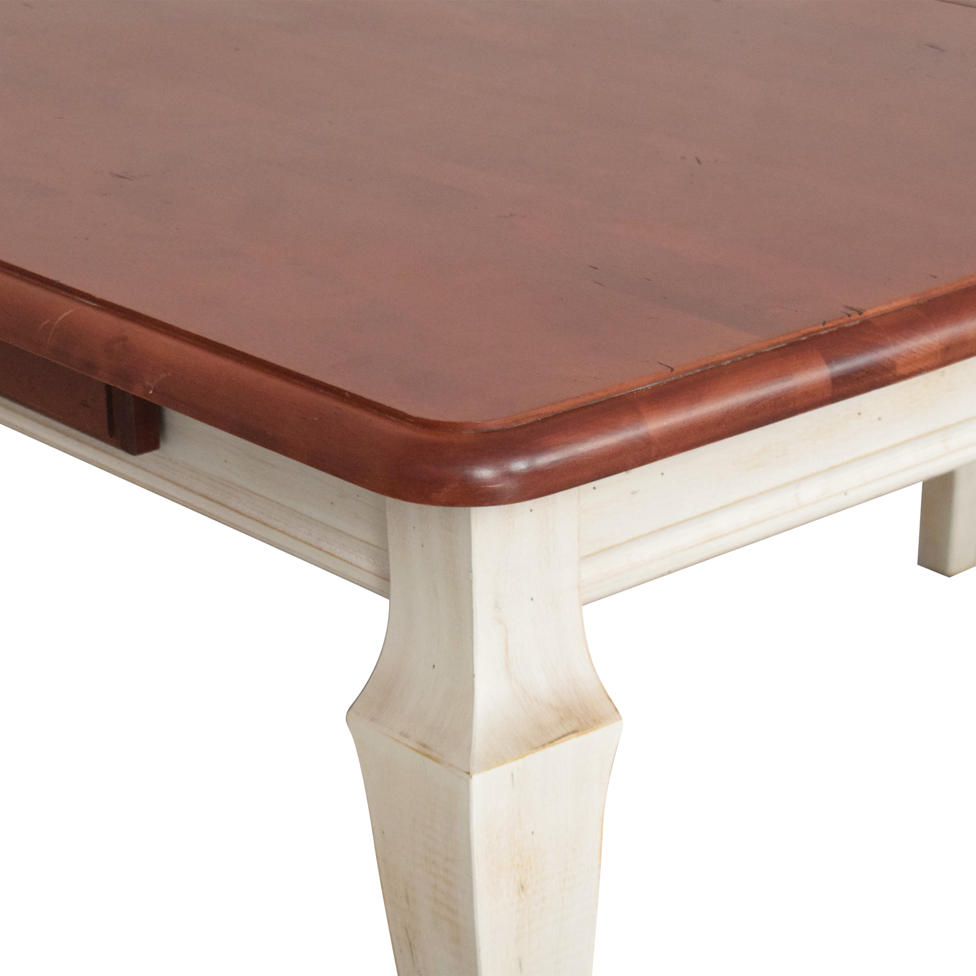 buy Domain Country French Extendable Dining Table Domain Tables