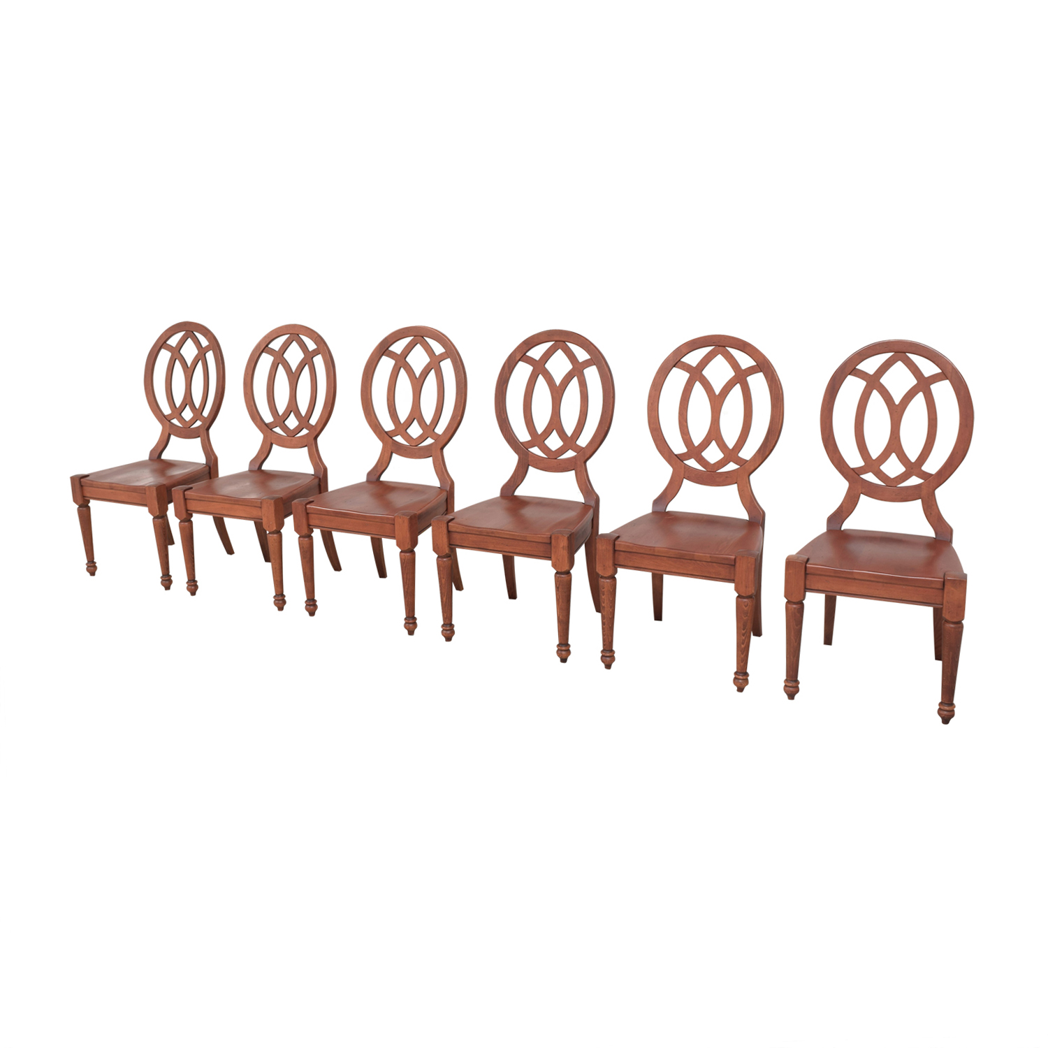 Domain Domain Medallion Back Dining Chairs second hand