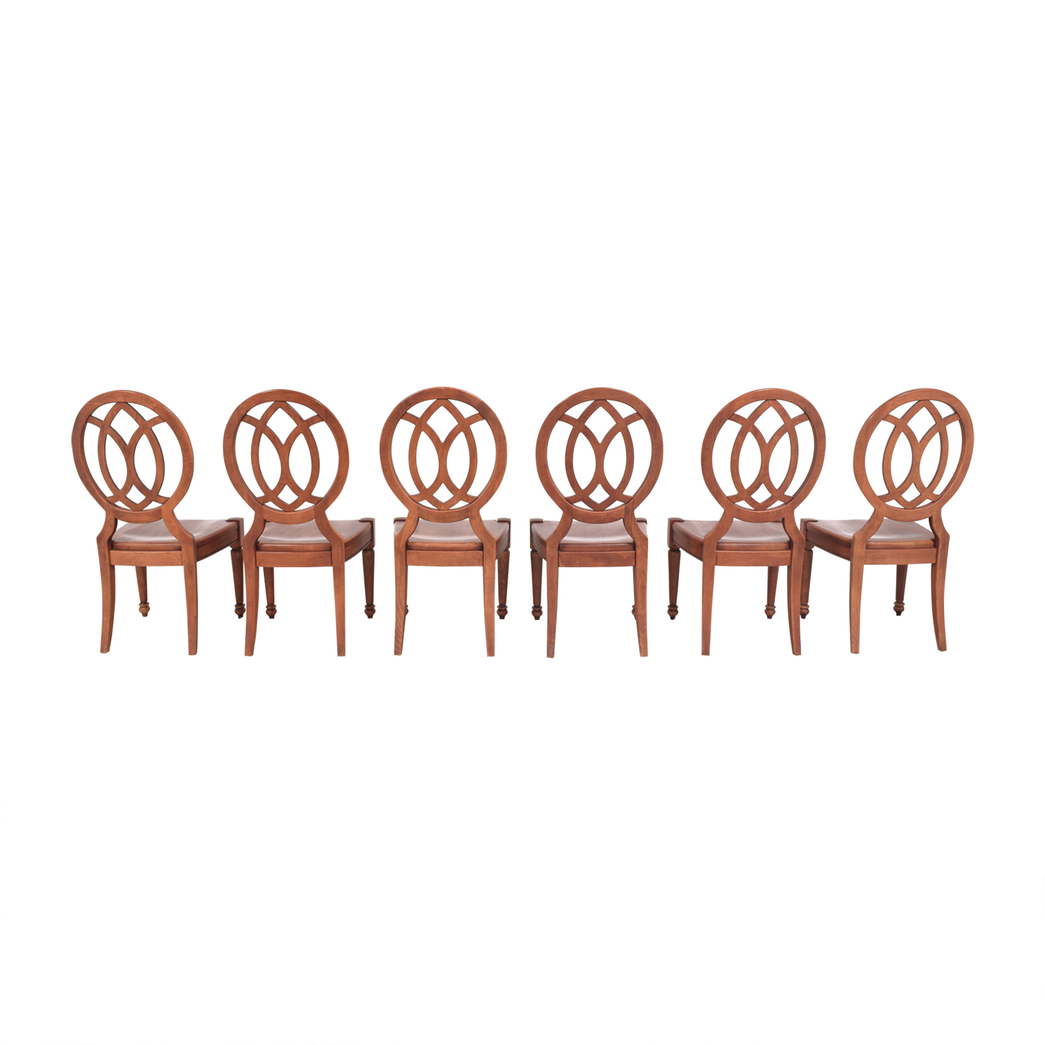 Domain Domain Medallion Back Dining Chairs for sale