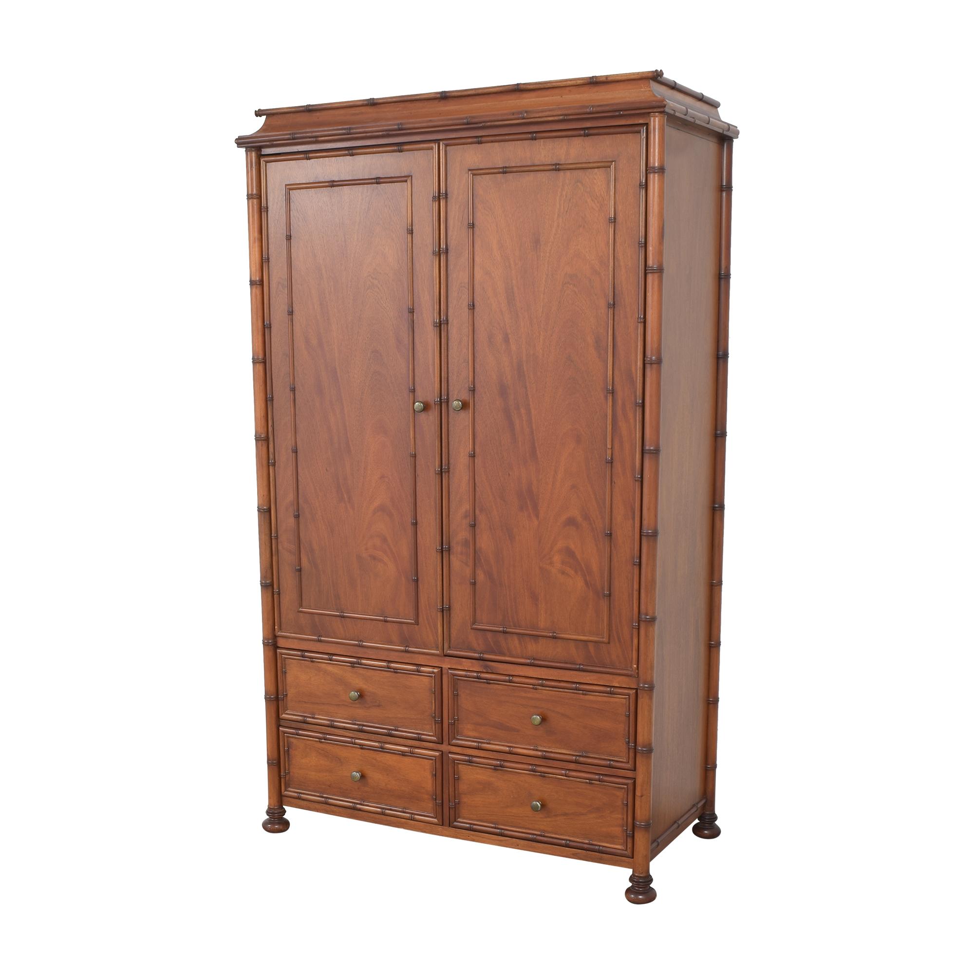 buy Restoration Hardware Restoration Hardware Two Door Armoire online