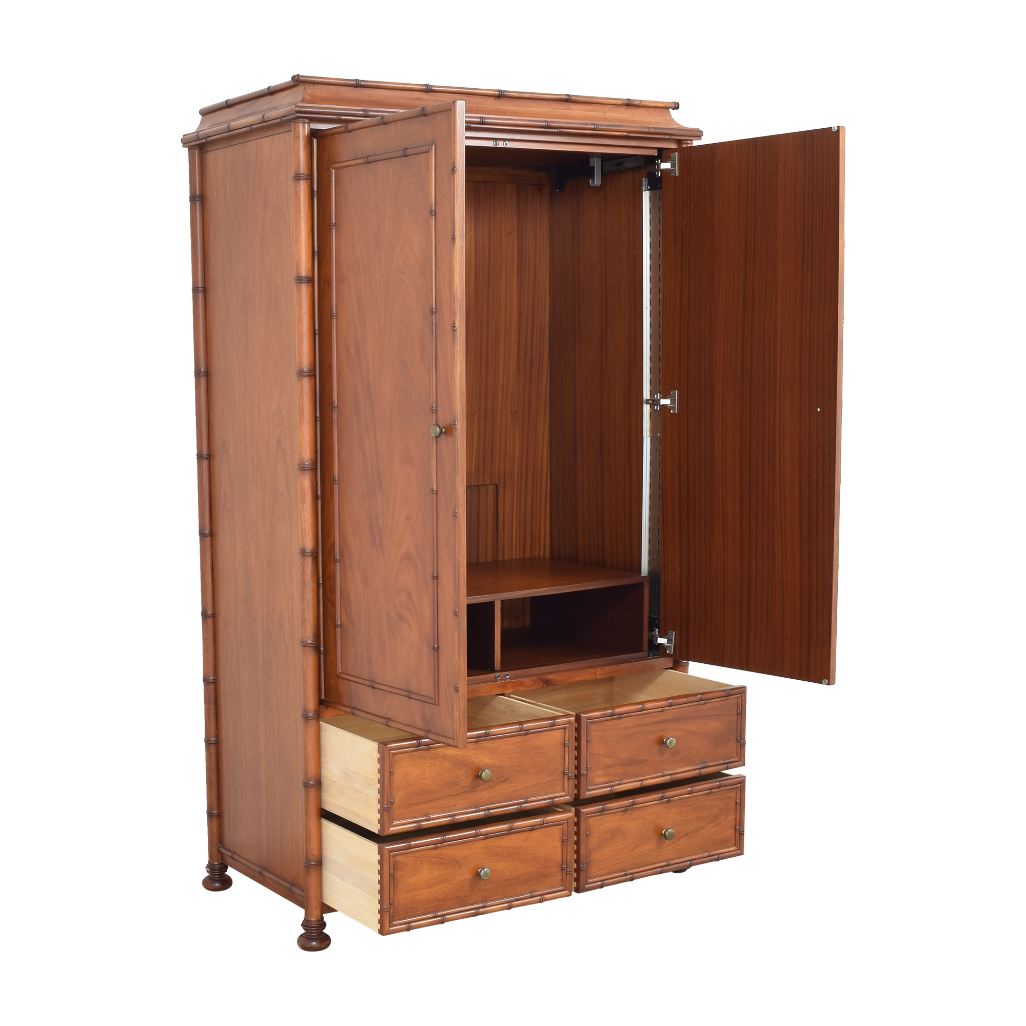 Restoration Hardware Two Door Armoire / Wardrobes & Armoires