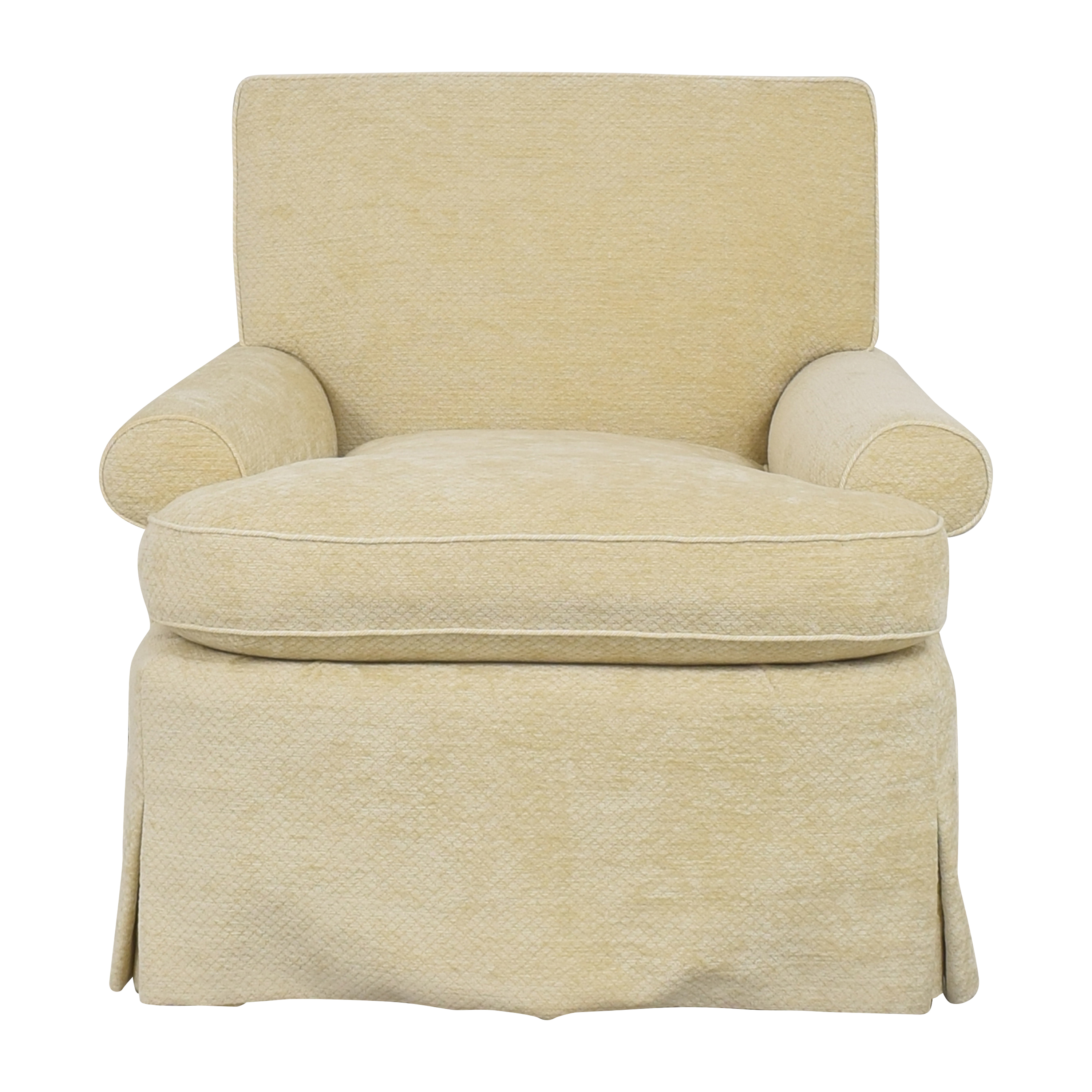 Custom Upholstered Accent Chair discount
