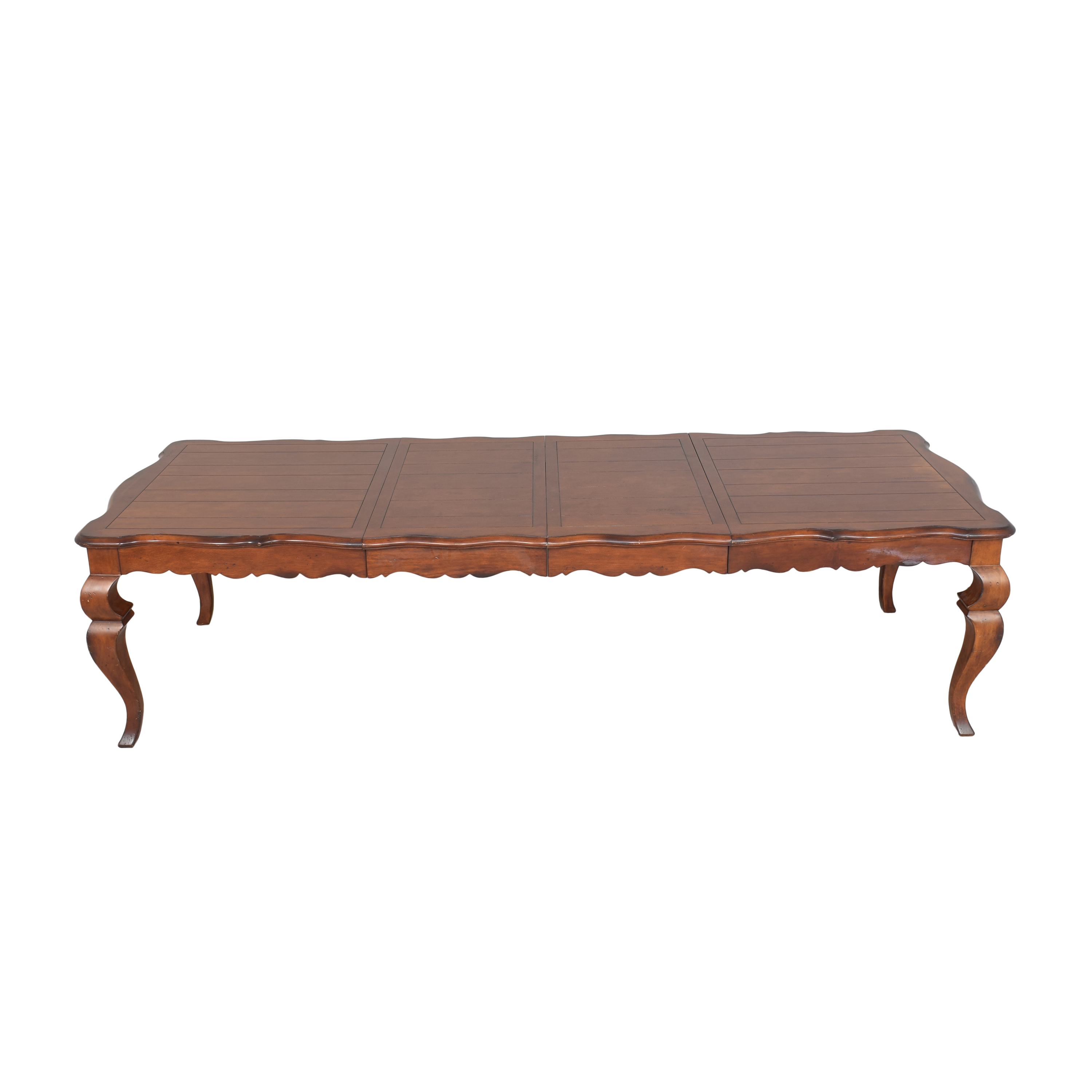 Hickory White French Country Extendable Dining Table  / Tables