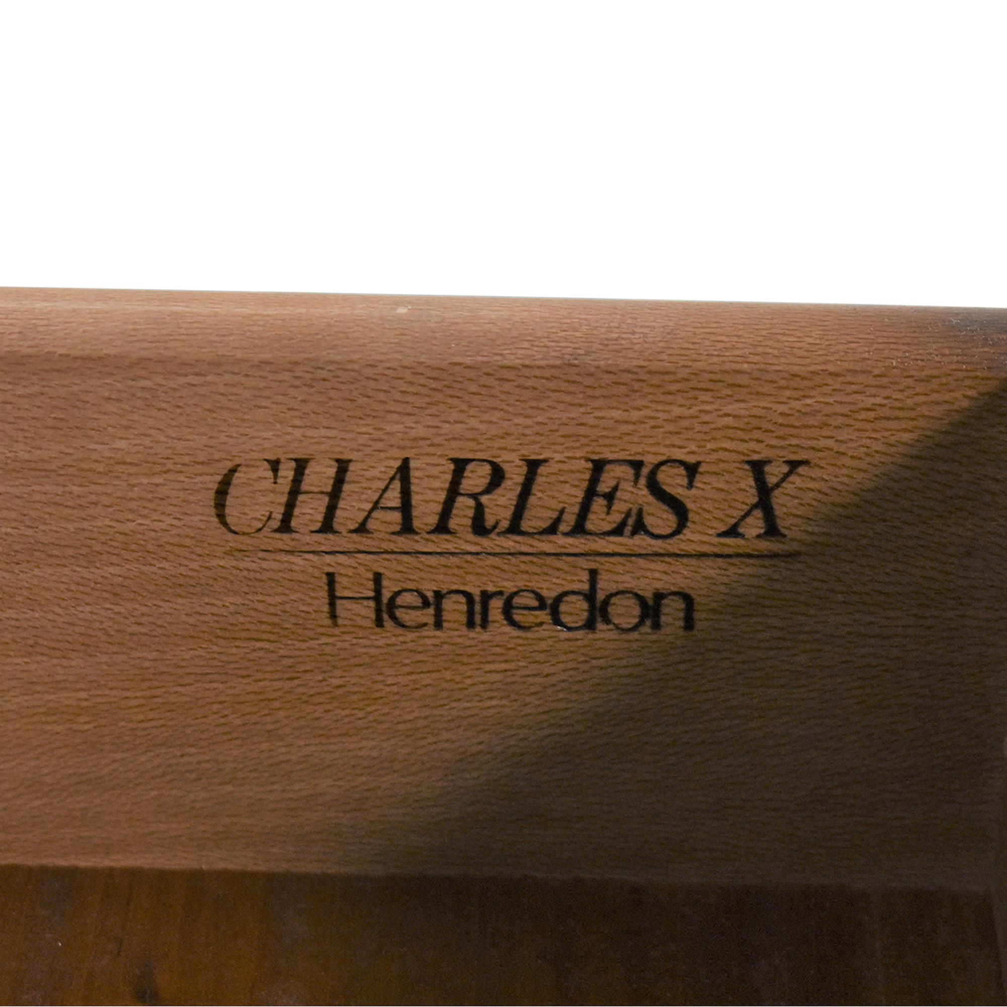 shop Henredon Furniture Charles X Collection Nightstand Henredon Furniture End Tables