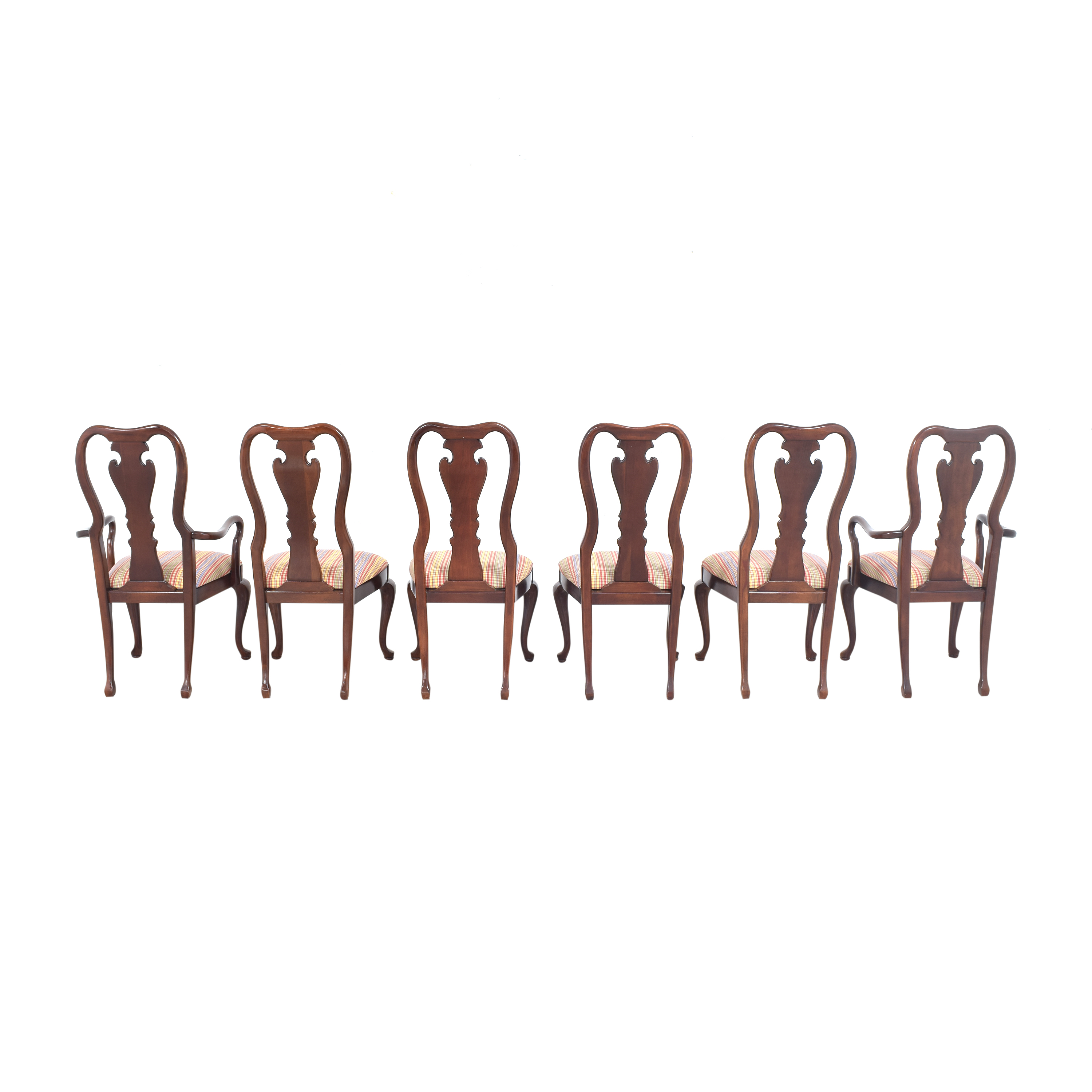 Thomasville Thomasville Queen Anne Dining Chairs second hand