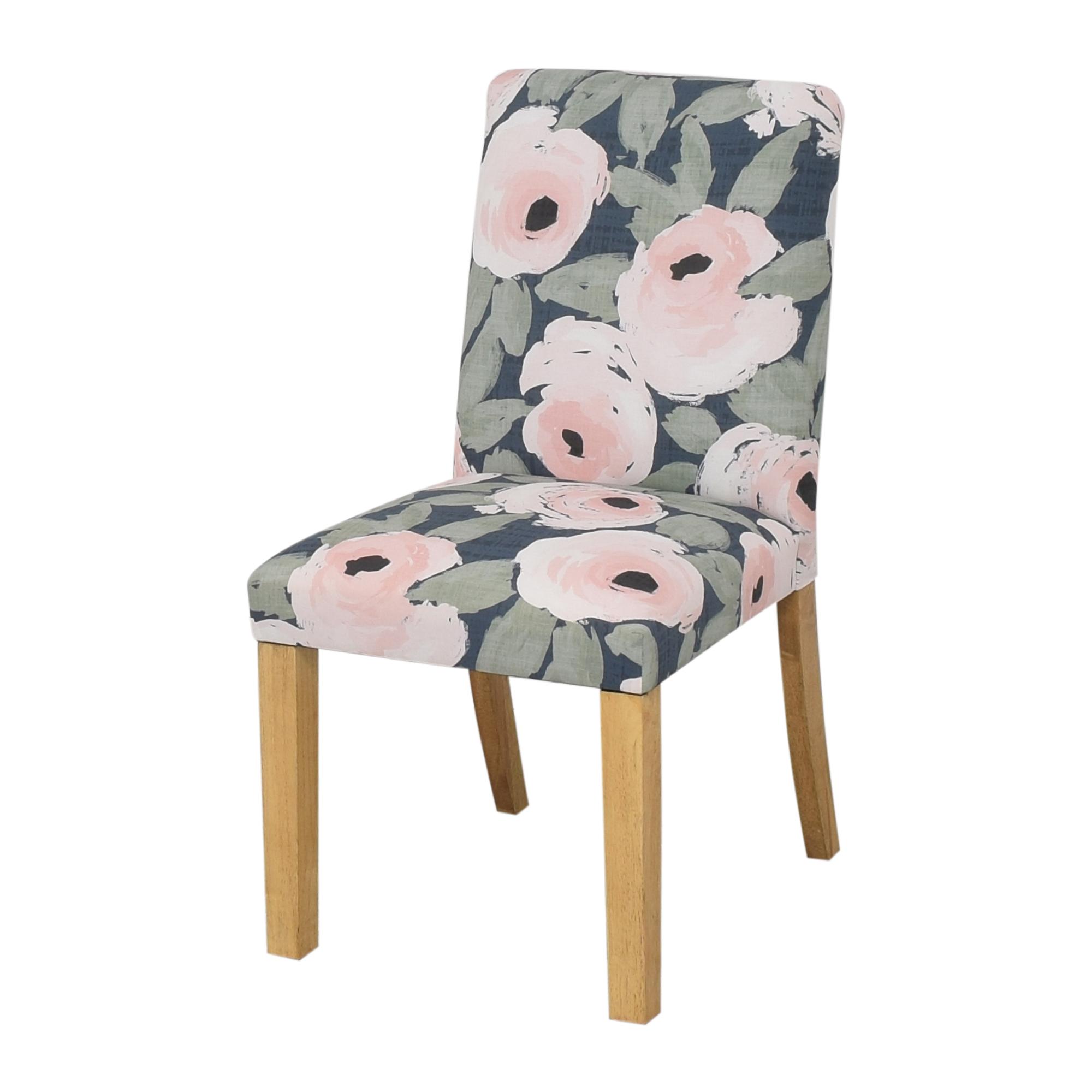 Skyline Furniture Ginny Floral Harvest Dining Chair sale