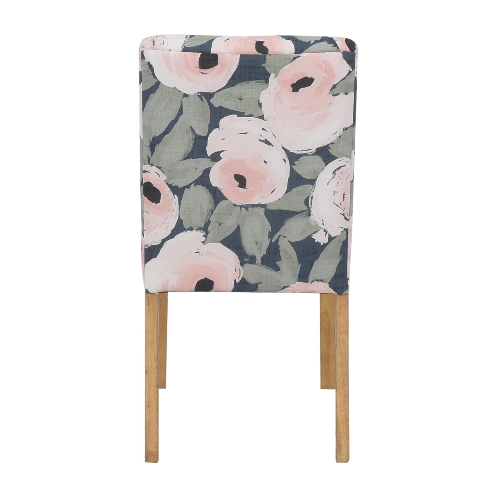 buy Skyline Furniture Ginny Floral Harvest Dining Chair Skyline Furniture