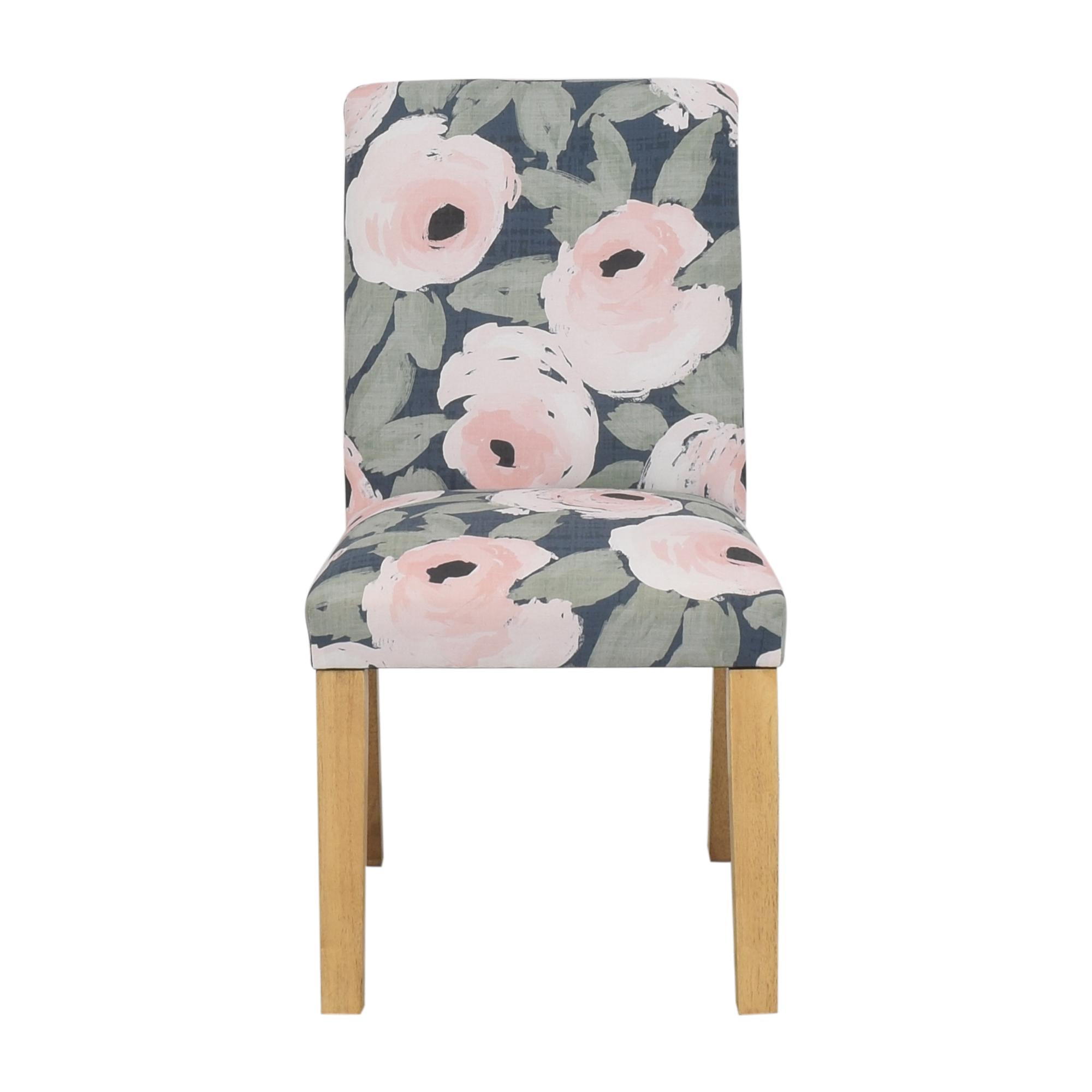 Skyline Furniture Skyline Furniture Ginny Floral Harvest Dining Chair for sale