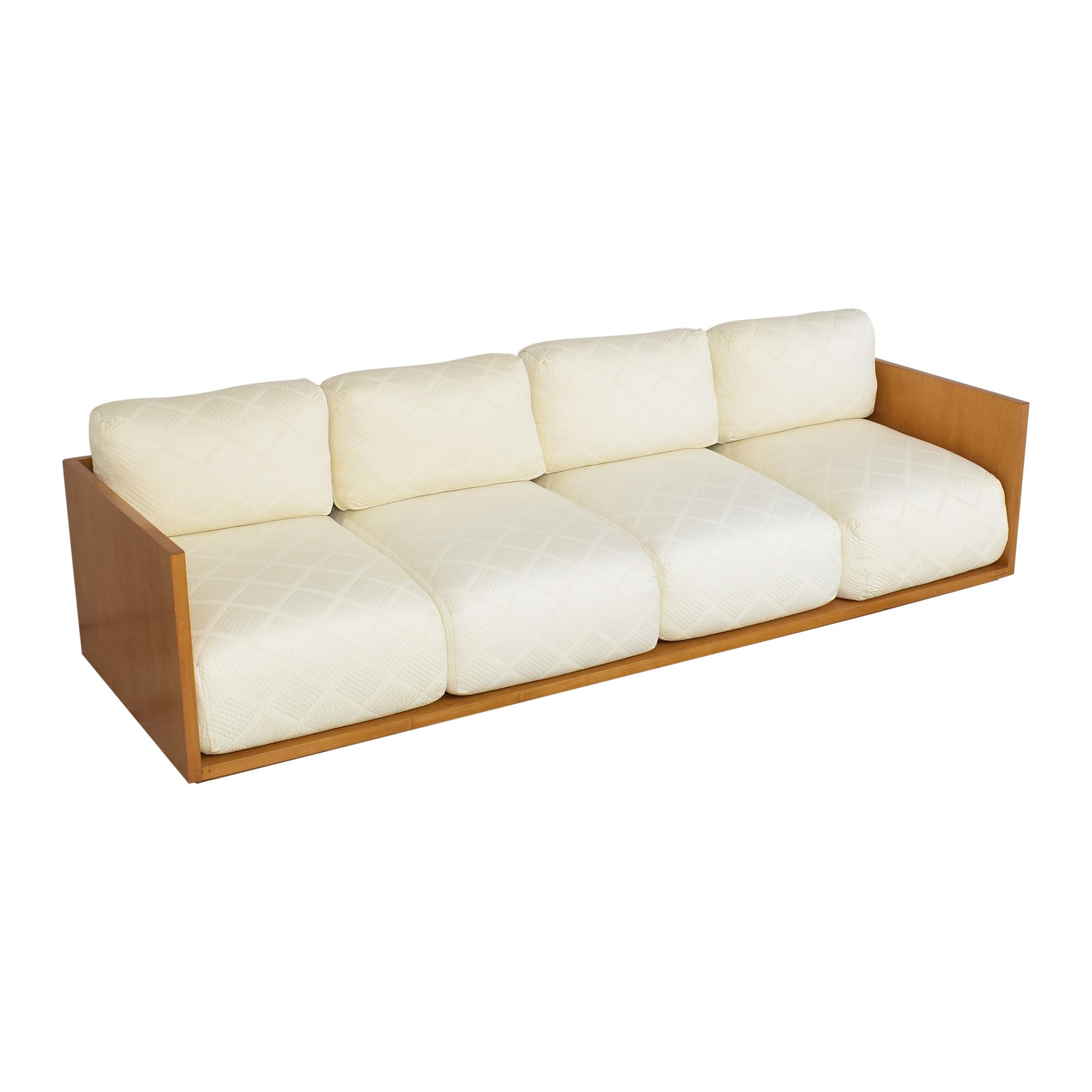 Custom Four Cushion Sofa ma