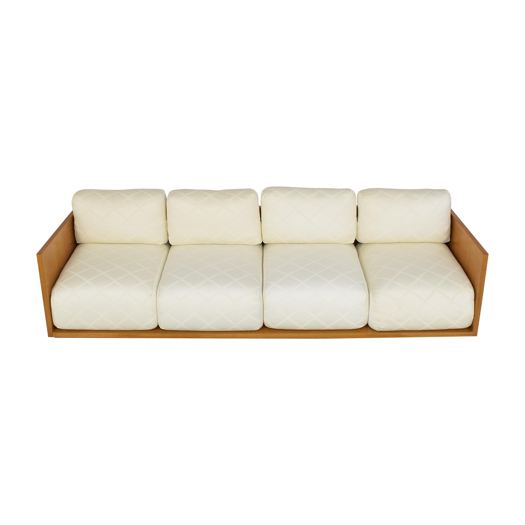 Custom Four Cushion Sofa