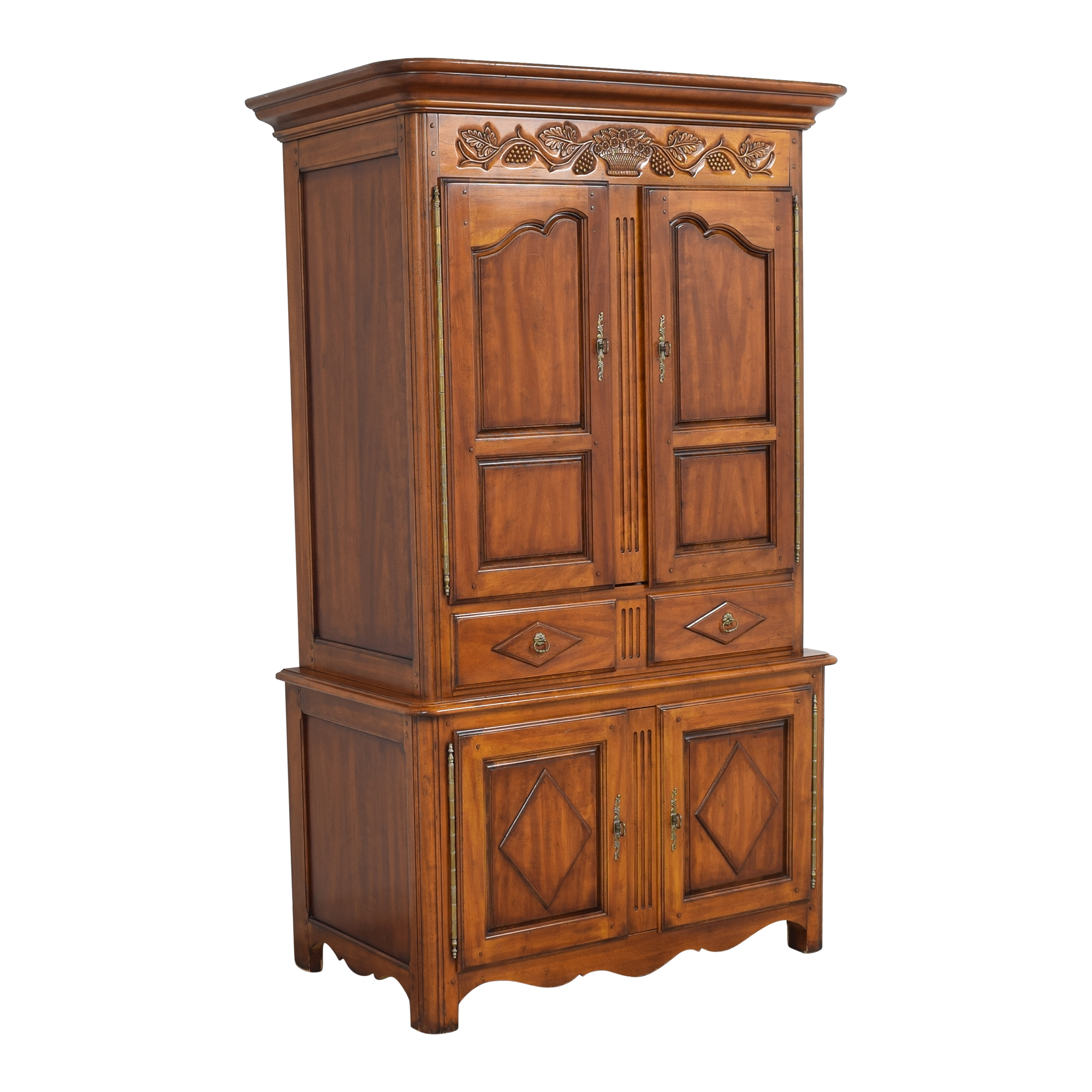 Hickory Chair Hickory Chair French Country Armoire nj