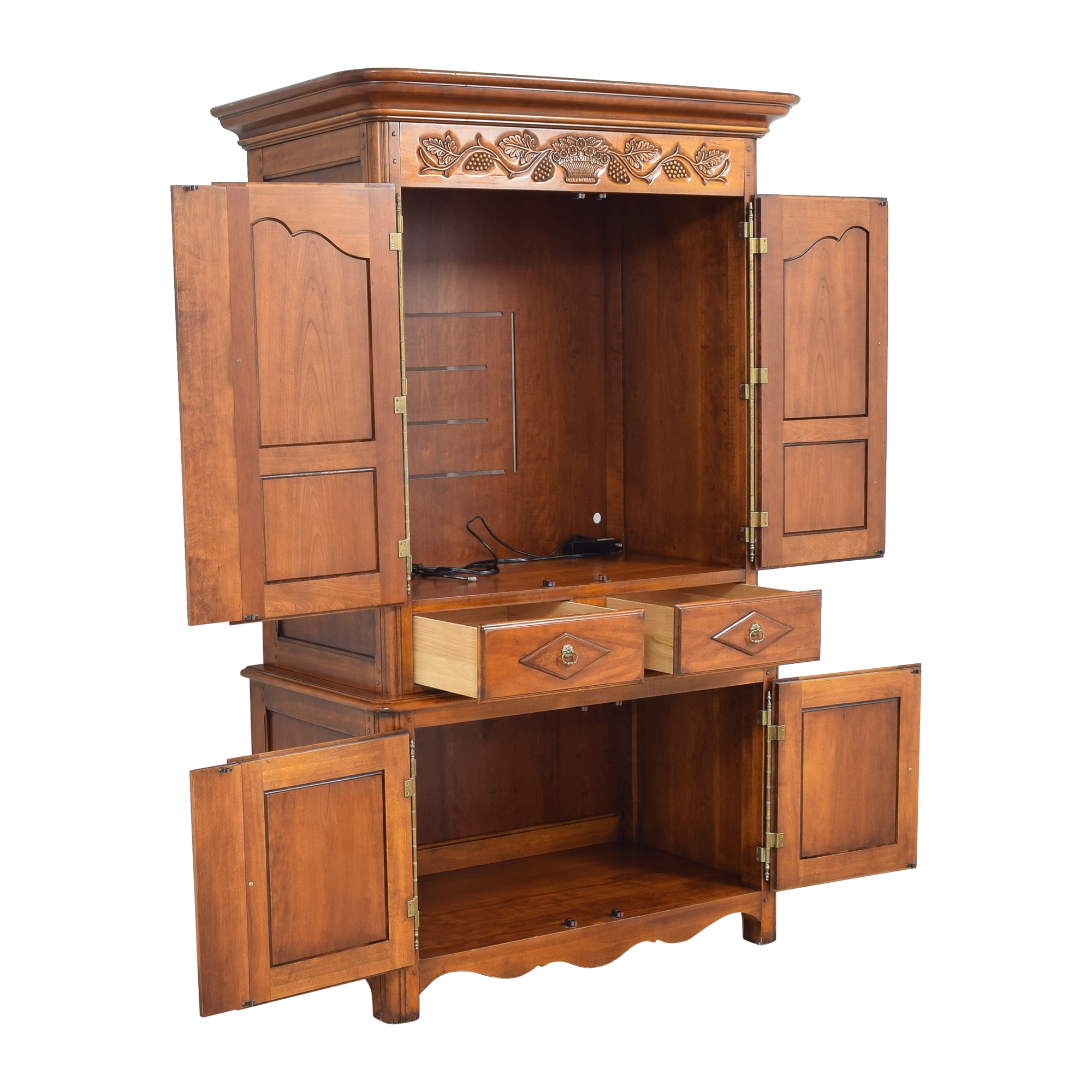 Hickory Chair French Country Armoire Hickory Chair