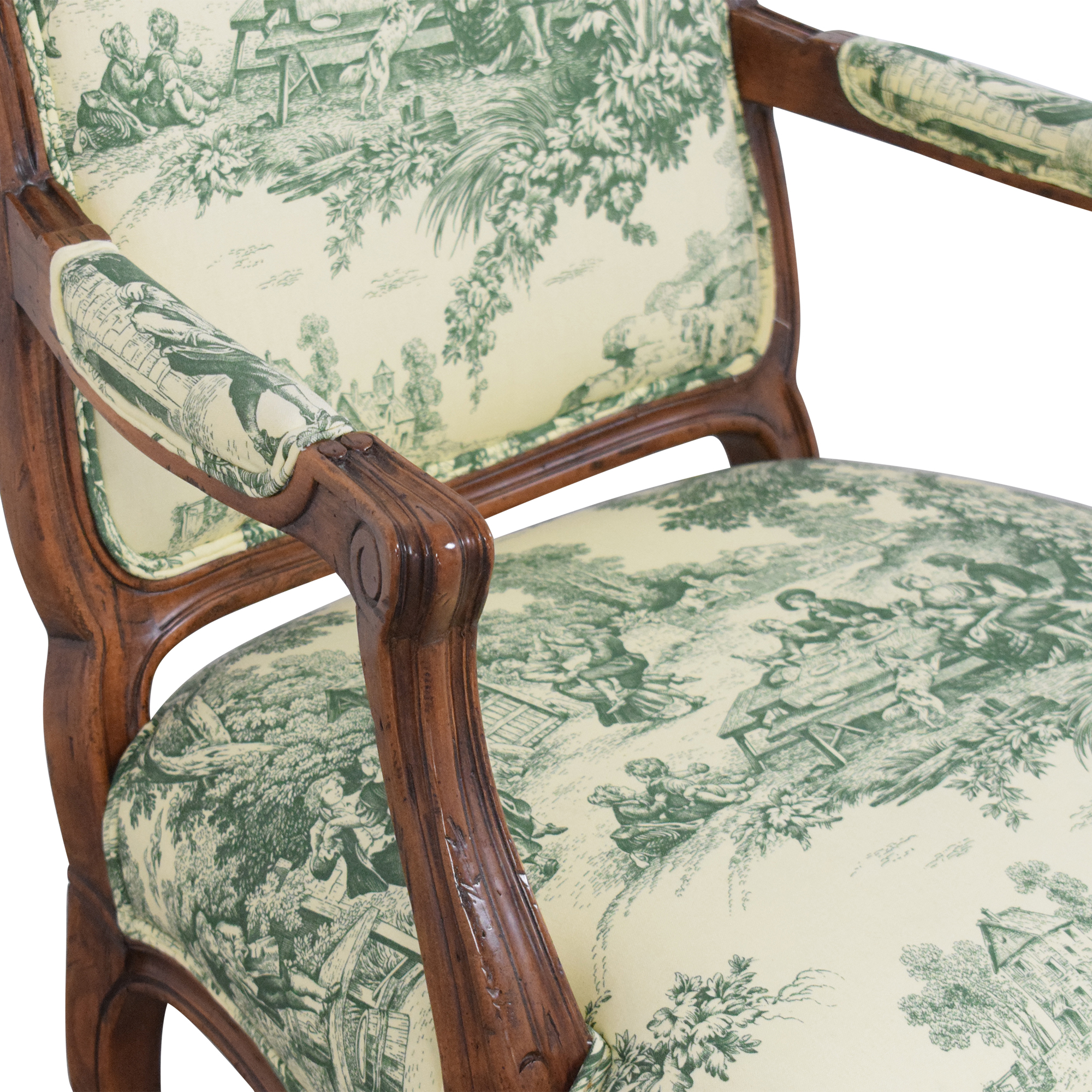 Fremarc Designs Fremarc Designs Upholstered Arm Chair nj
