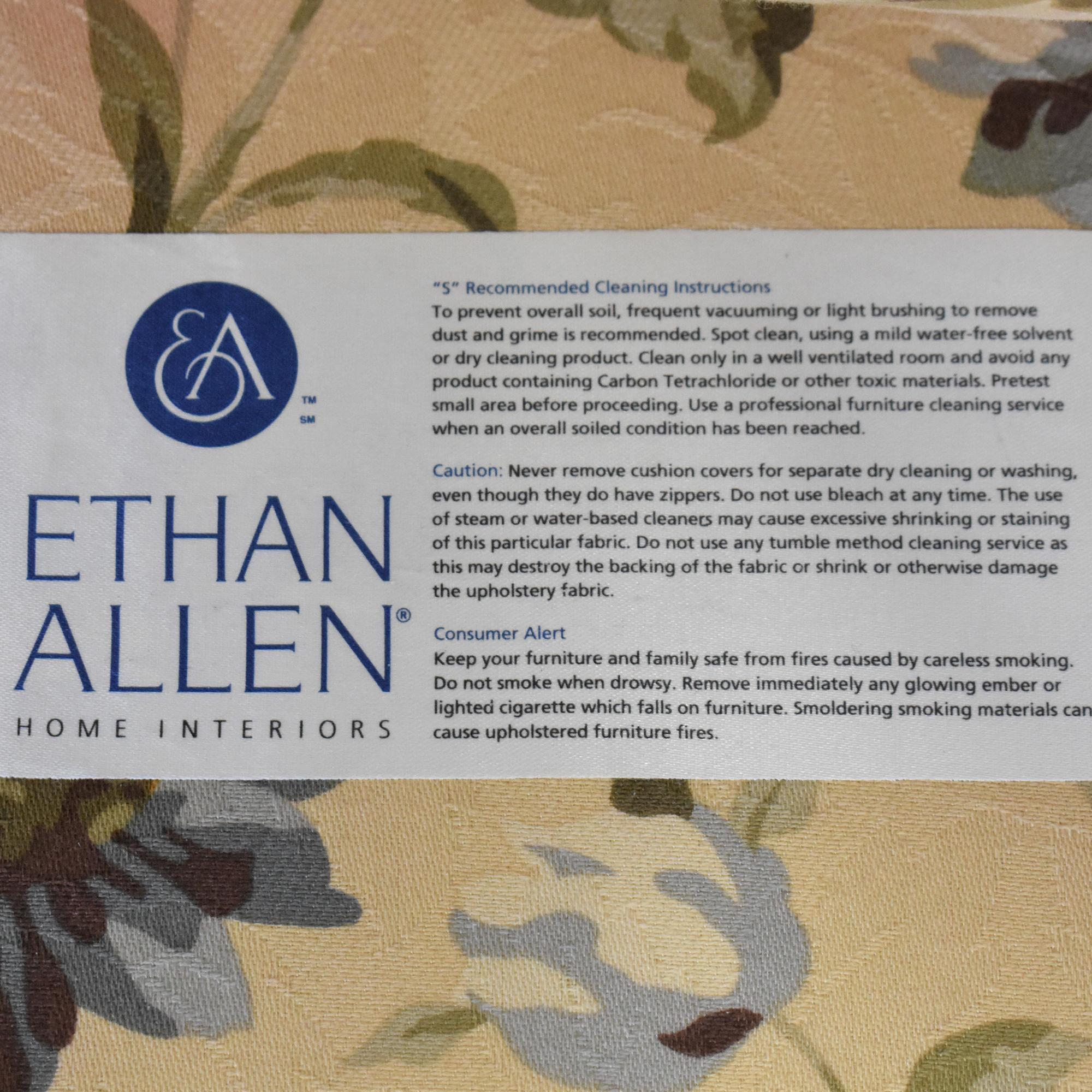 Ethan Allen Ethan Allen Tufted Bench Cushion Sofa nj