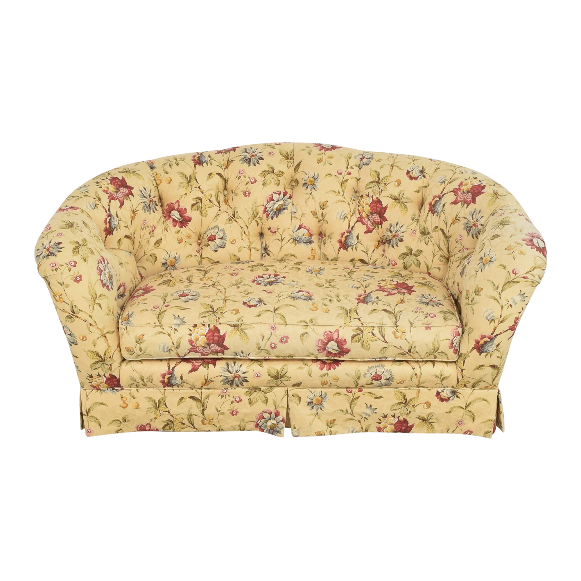 Ethan Allen Ethan Allen Tufted Bench Cushion Sofa used