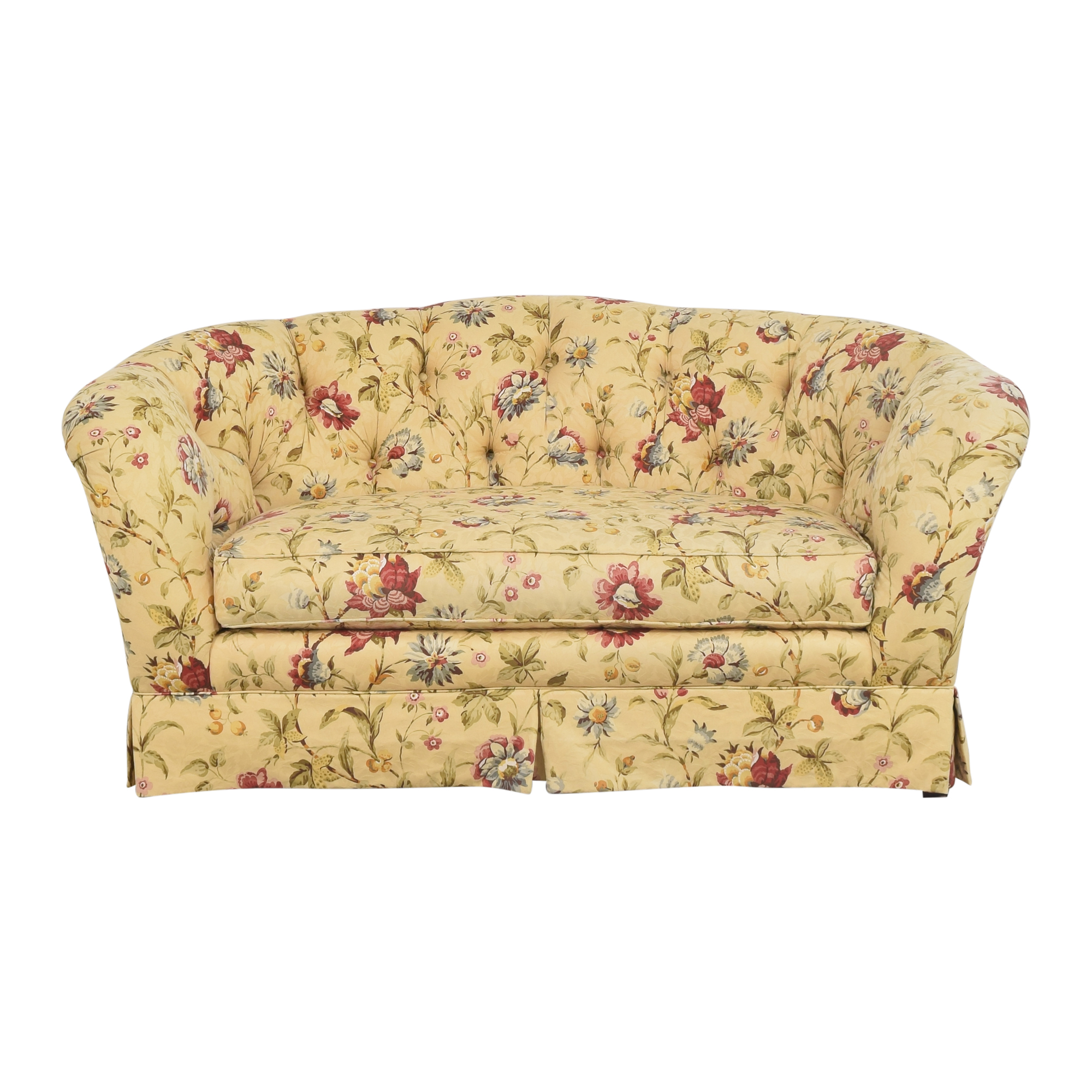 Ethan Allen Ethan Allen Tufted Bench Cushion Sofa