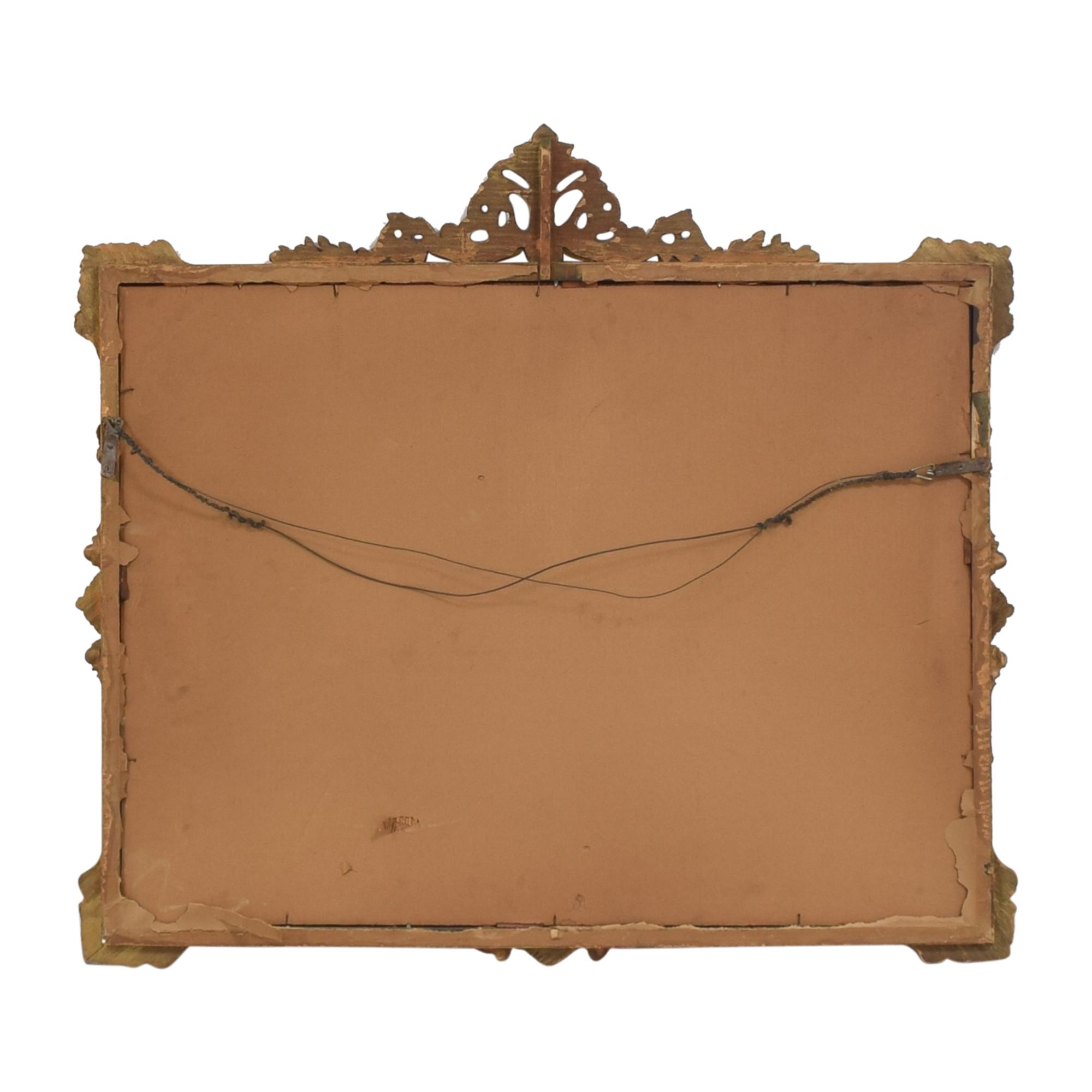 shop Antique Ornate Frame Mirror   Mirrors