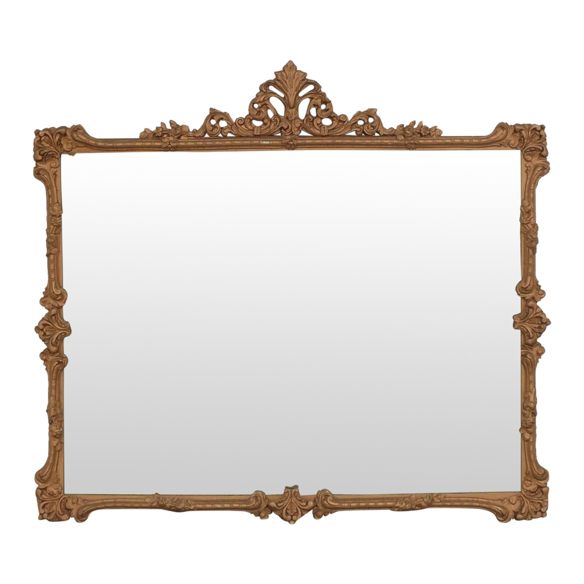 Antique Ornate Frame Mirror