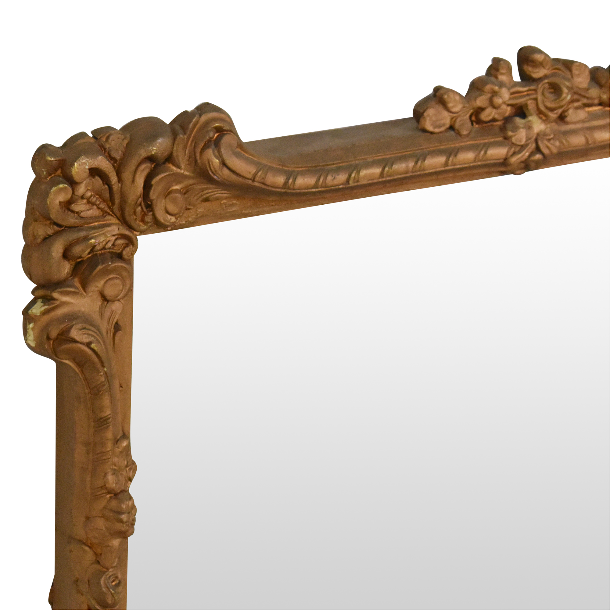 Antique Ornate Frame Mirror  on sale