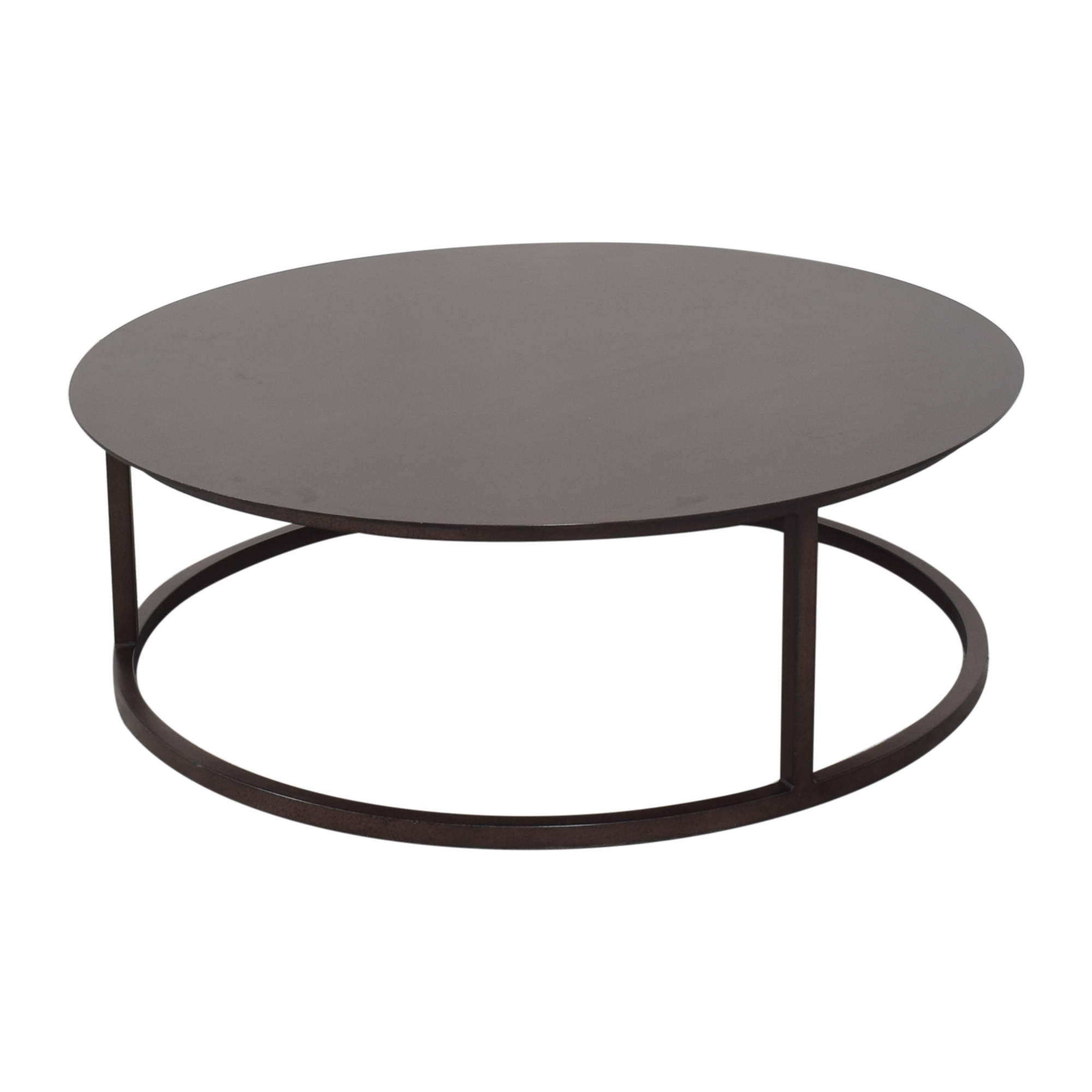 Restoration Hardware Restoration Hardware Round Mercer Coffee Table on sale