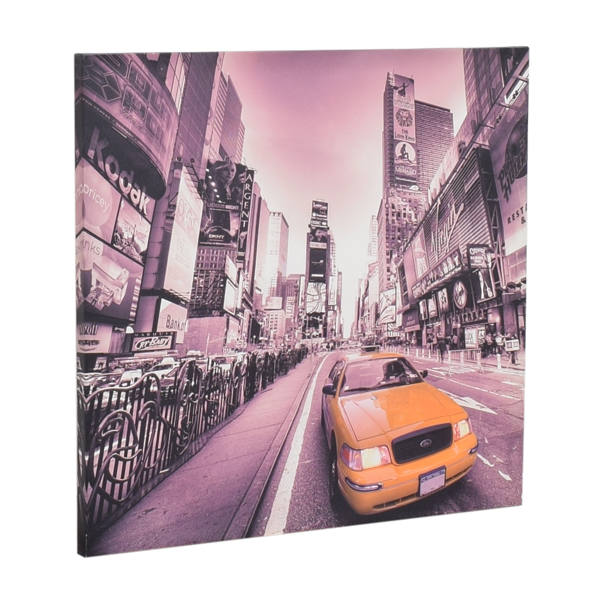 New York Taxi Wall Art discount