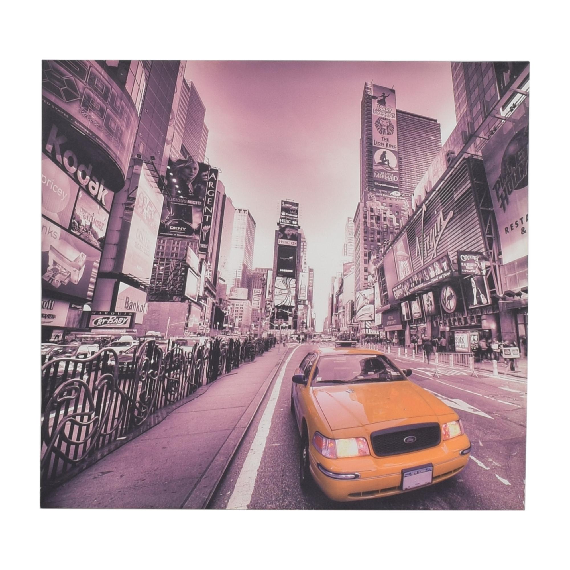 New York Taxi Wall Art multi