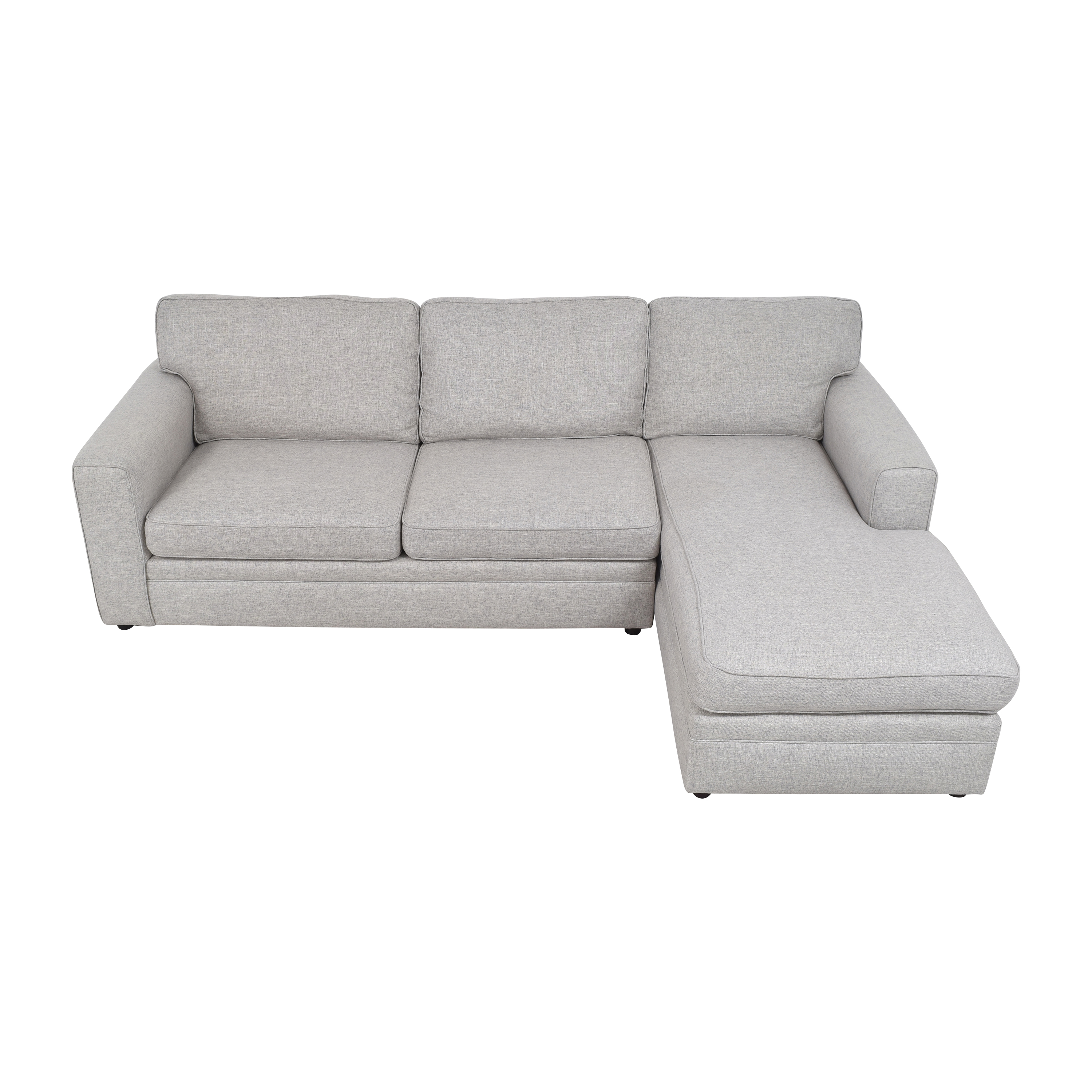 Pottery Barn Pearce Square Arm Chaise Sectional Sofa / Sofas