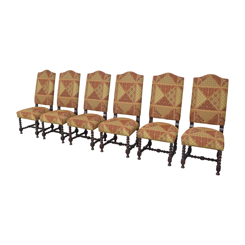 shop Charles Stewart Barley Twist Dining Chairs Charles Stewart Company Dining Chairs