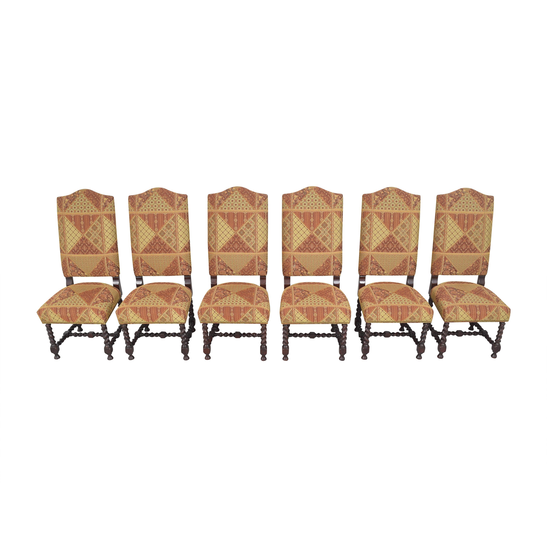 Charles Stewart Company Charles Stewart Barley Twist Dining Chairs ct