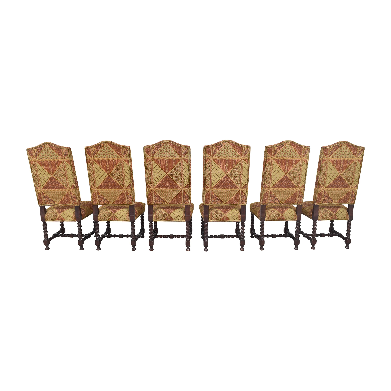 Charles Stewart Company Charles Stewart Barley Twist Dining Chairs coupon
