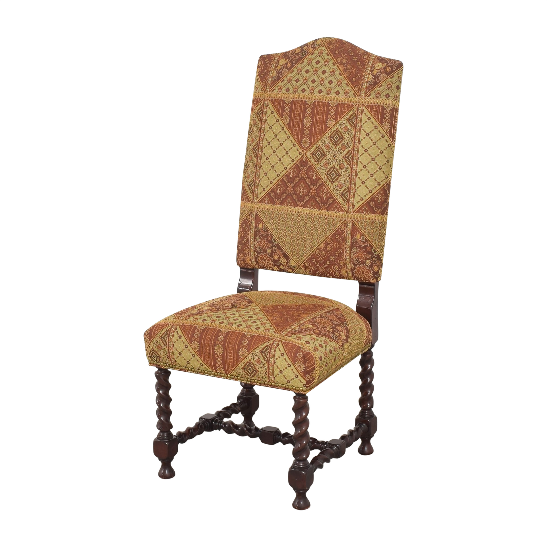 Charles Stewart Company Charles Stewart Barley Twist Dining Chairs dimensions