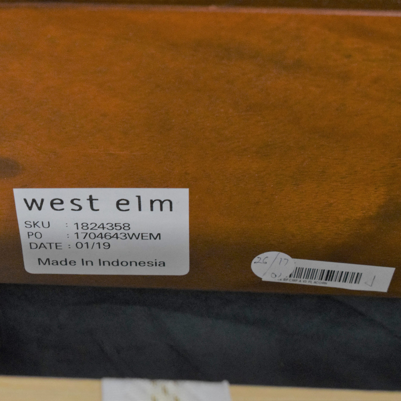 shop West Elm West Elm Full Simple Bed and Headboard  online